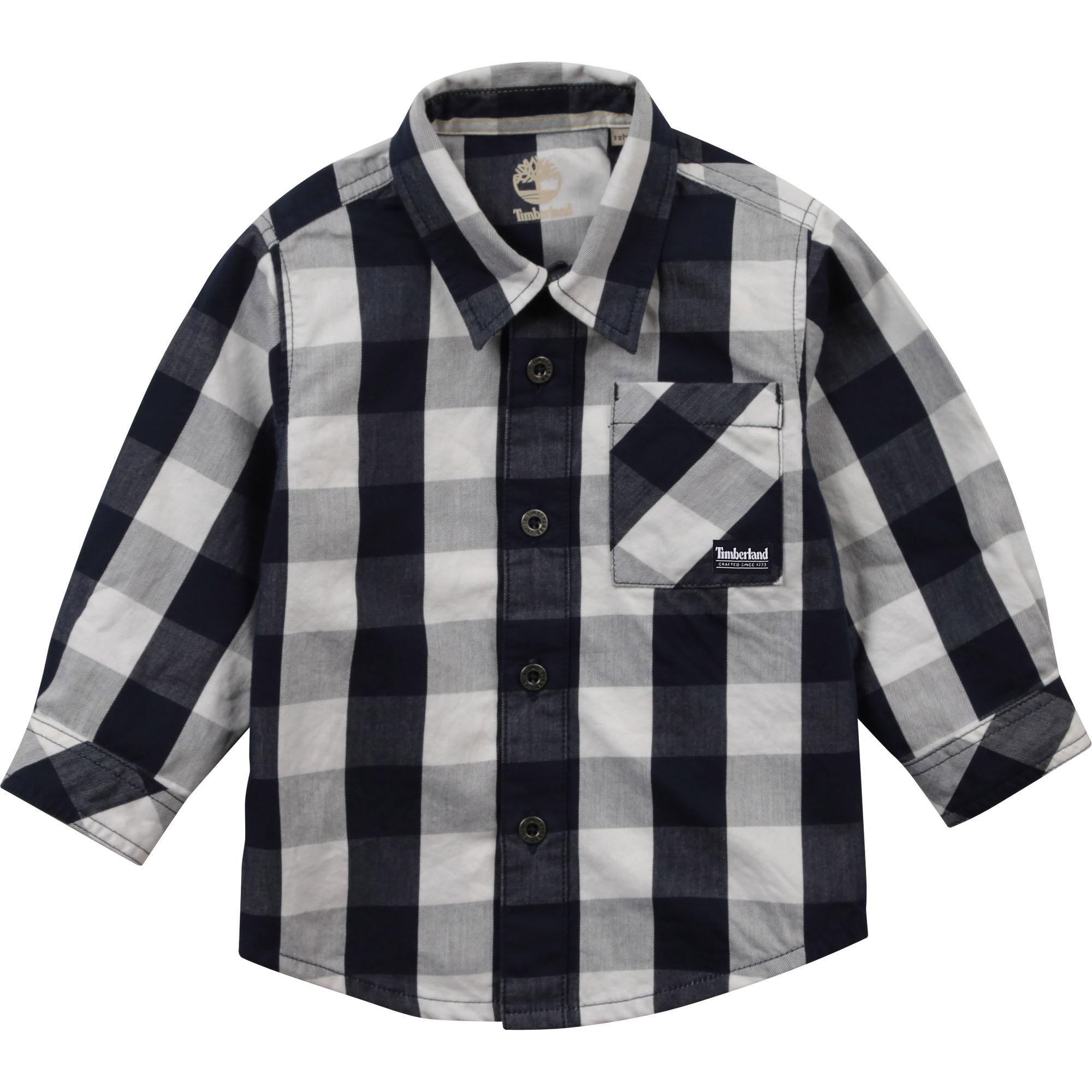 Chemise à carreaux TIMBERLAND pour GARCON