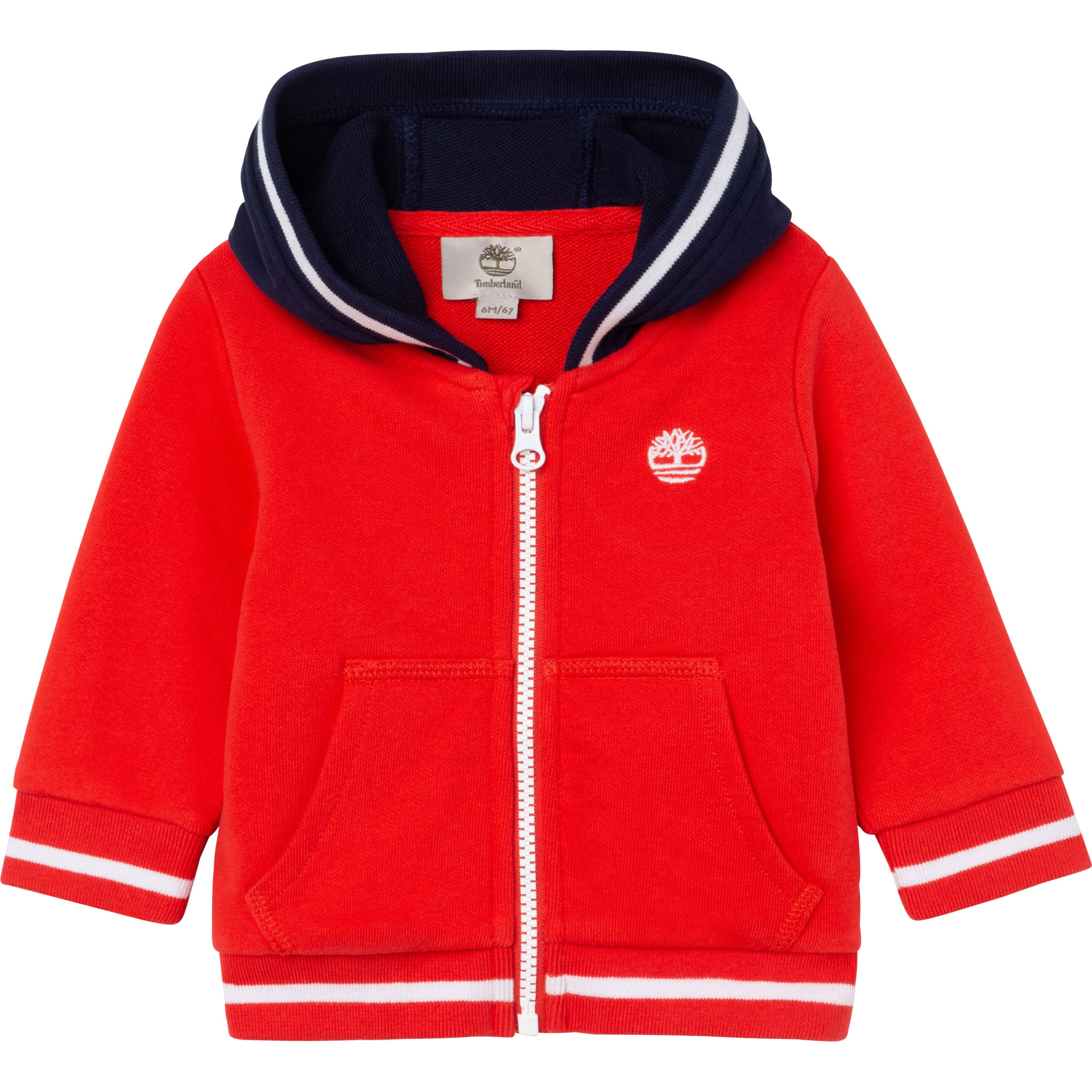 CARDIGAN A CAPUCHE TIMBERLAND pour GARCON