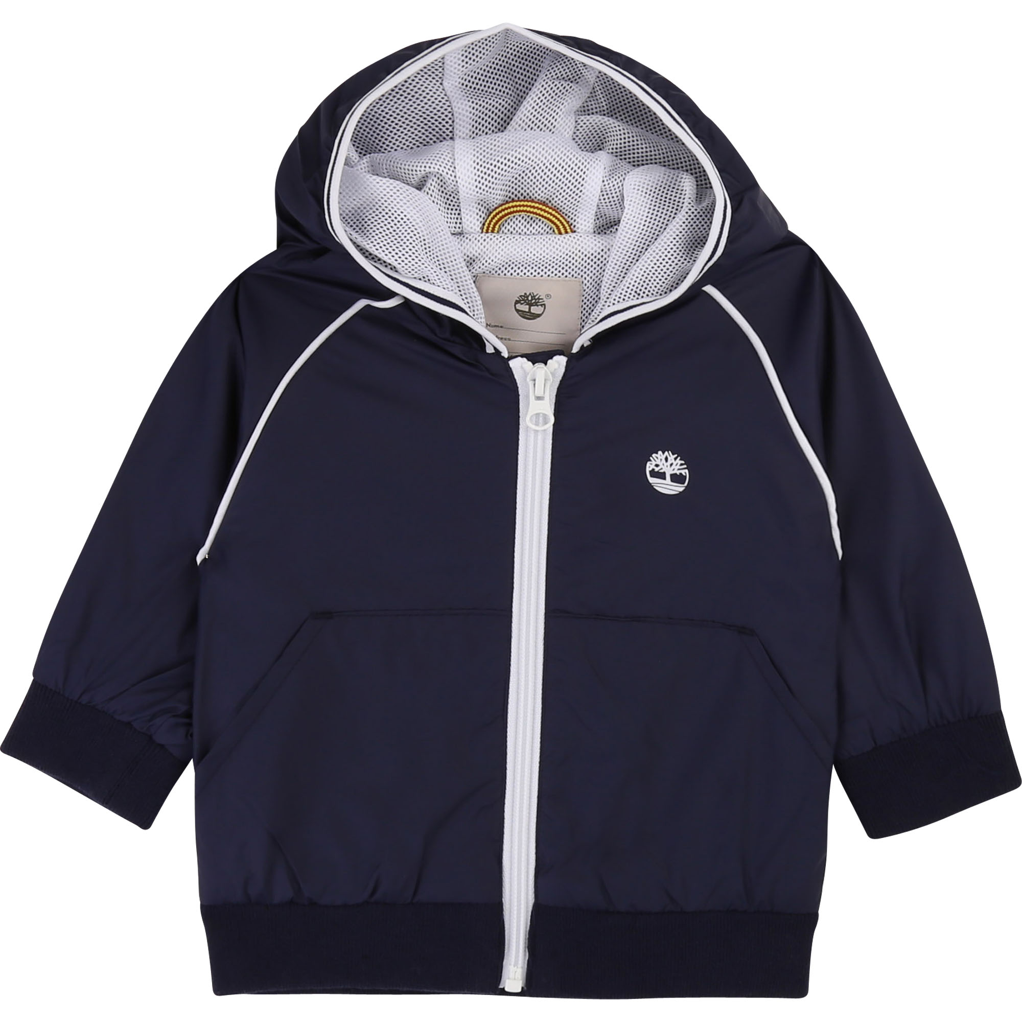 Water-repellent hooded jacket TIMBERLAND for BOY