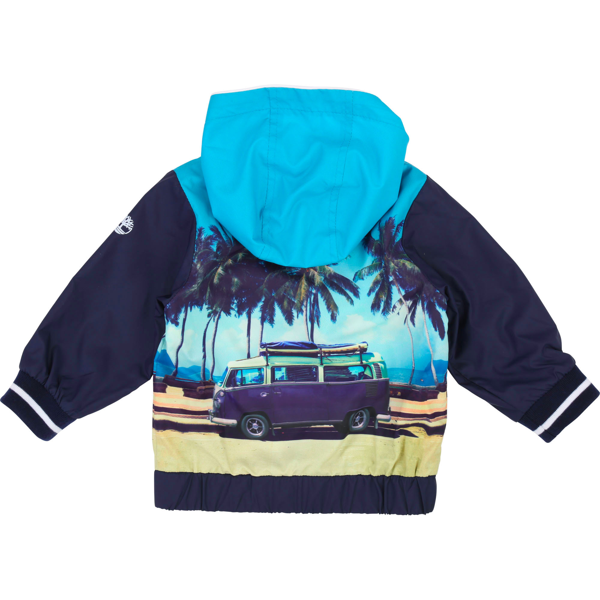 Water-repellent printed jacket TIMBERLAND for BOY