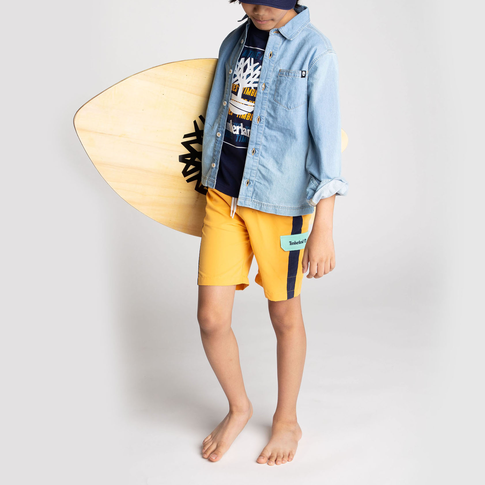 Surfer en polyester quick dry TIMBERLAND pour GARCON