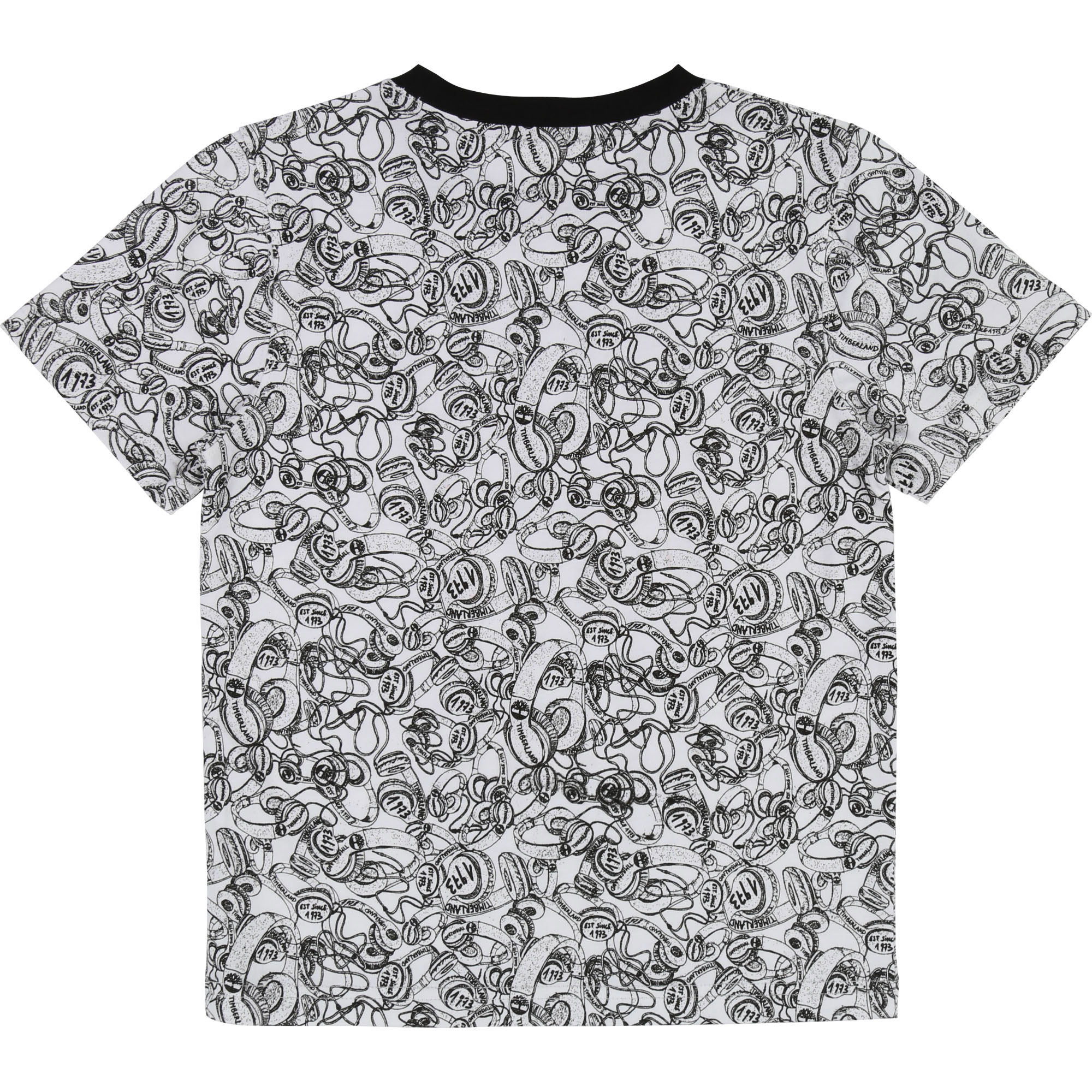 T-shirt slim imprimé all-over TIMBERLAND pour GARCON