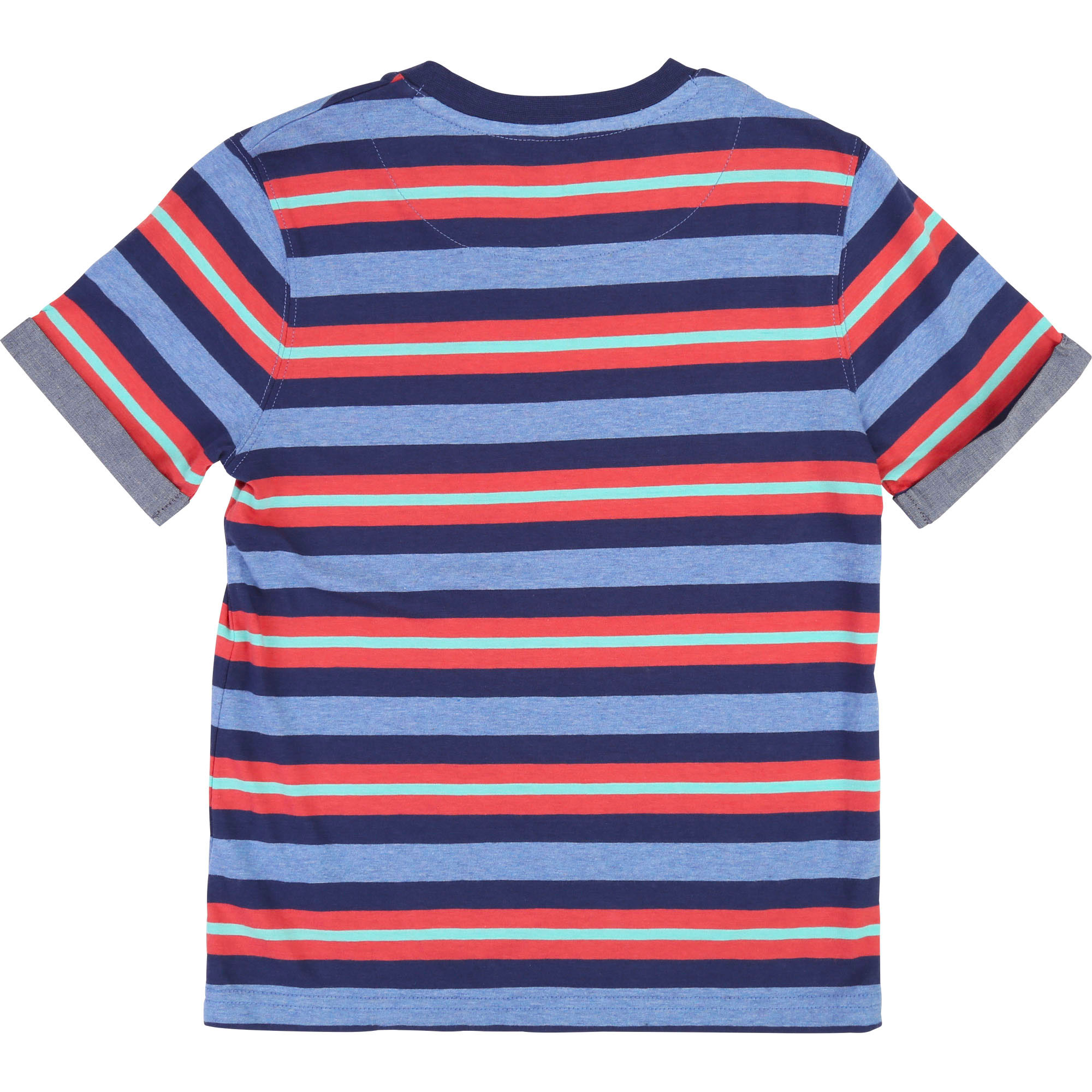 Striped cotton logo T-shirt TIMBERLAND for BOY