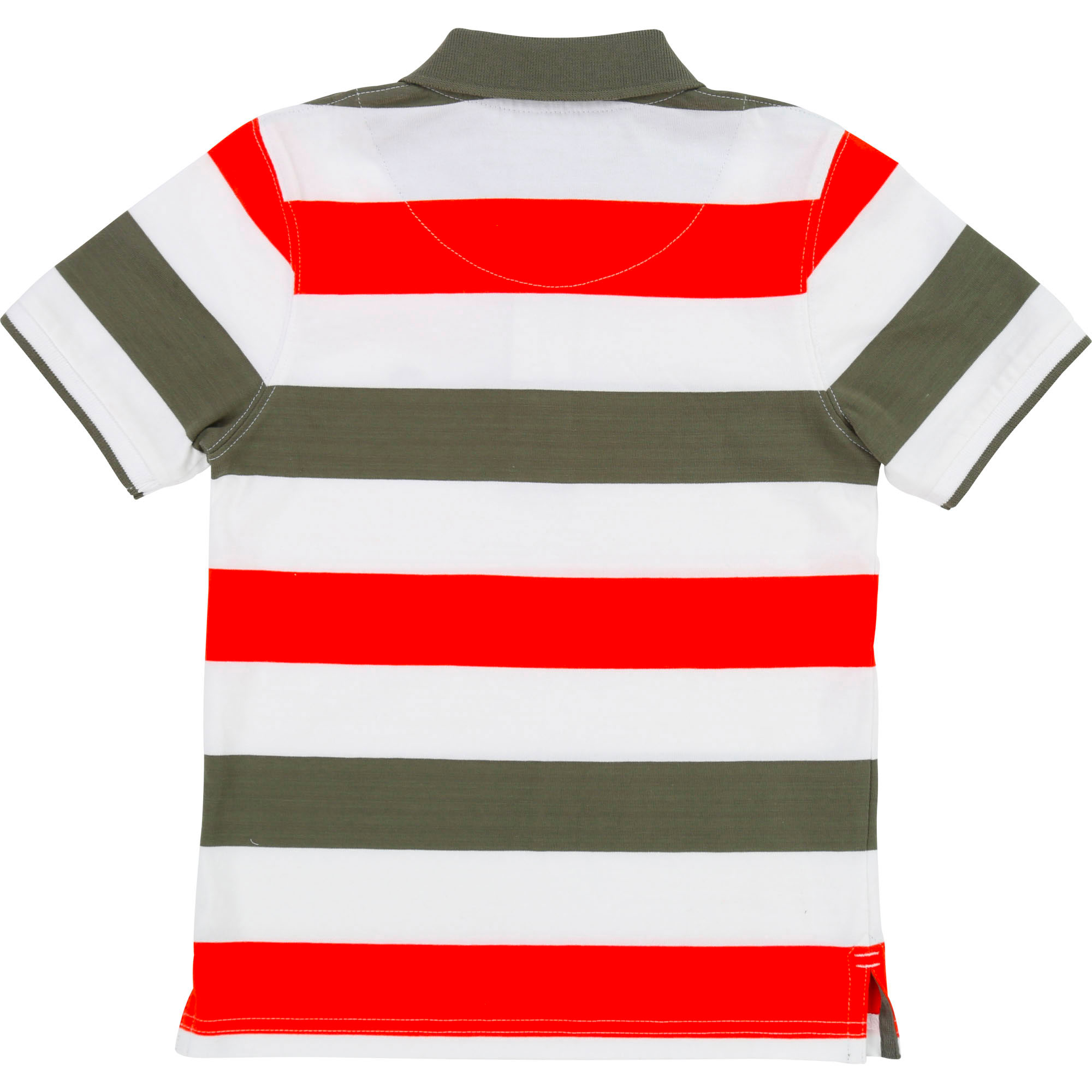 Slim-fit striped cotton polo TIMBERLAND for BOY