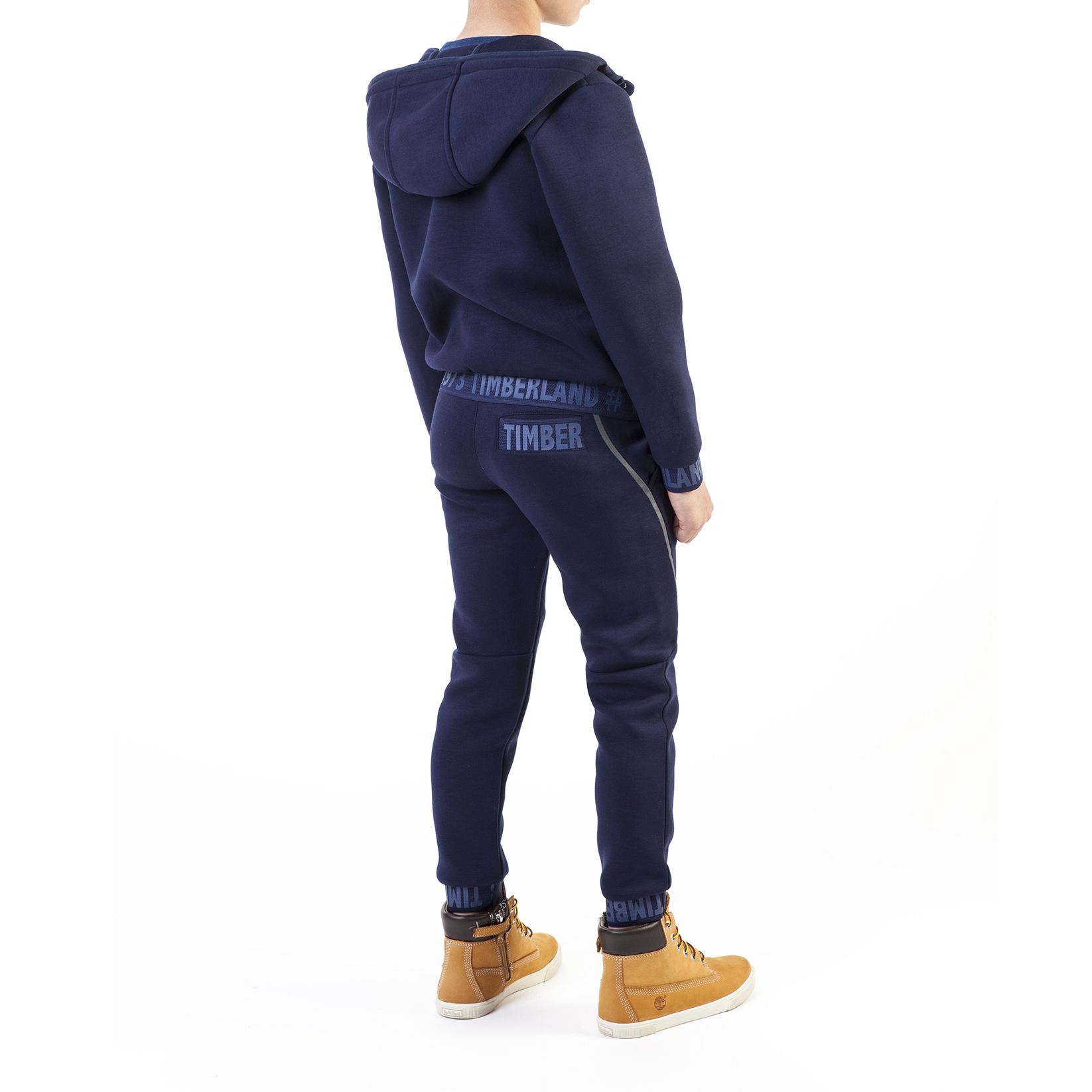 Zipped hooded cardigan TIMBERLAND for BOY