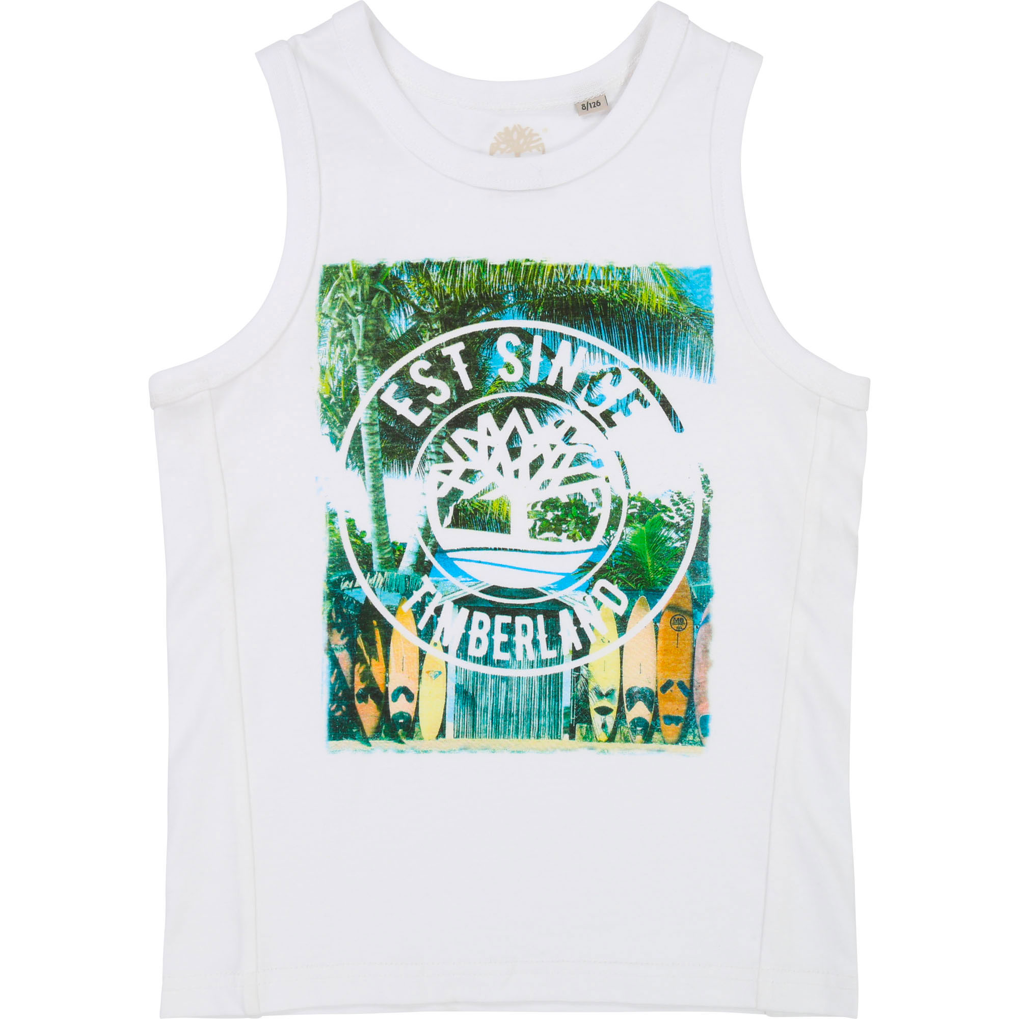 Screen printed surf vest top TIMBERLAND for BOY