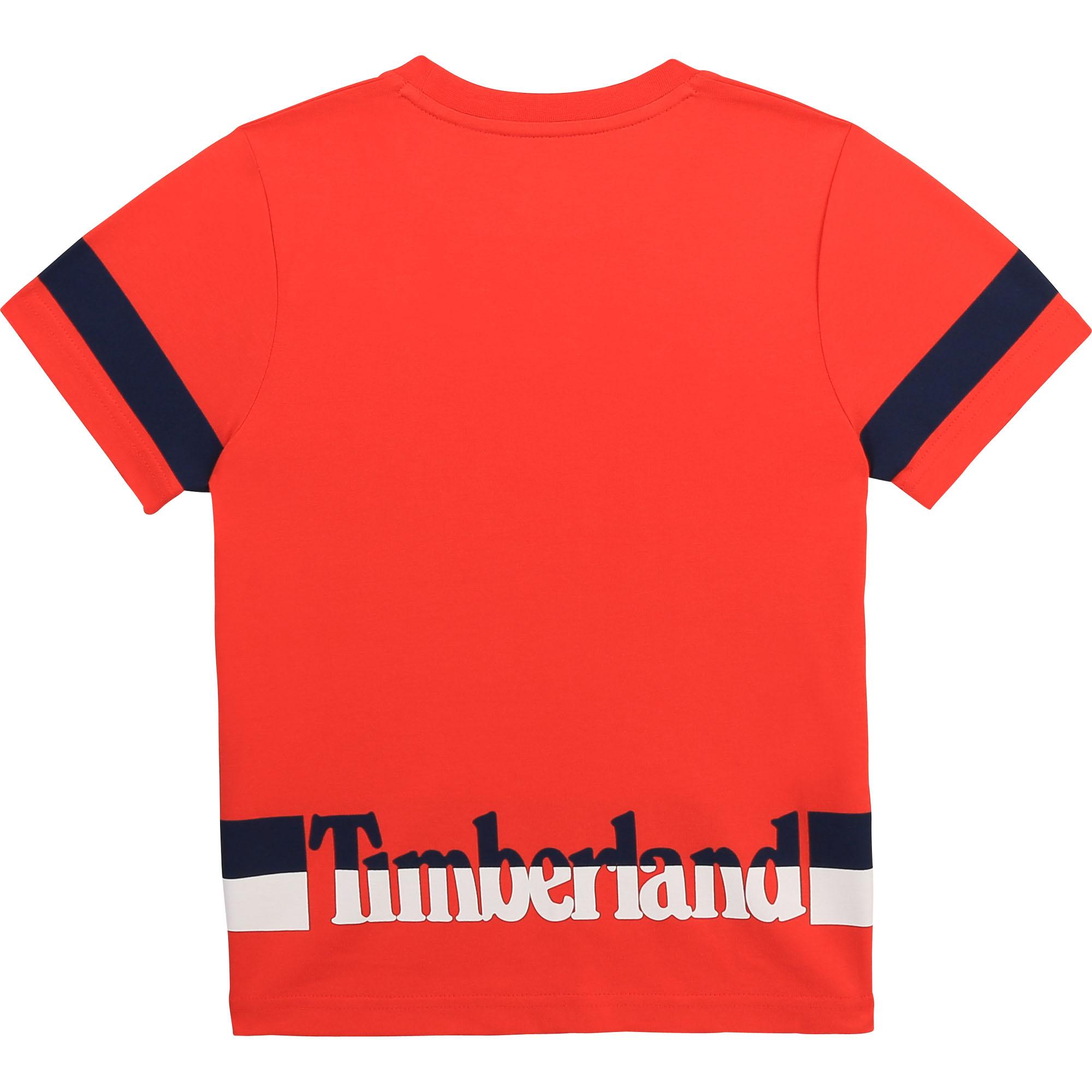 T-shirt en coton biologique TIMBERLAND pour GARCON