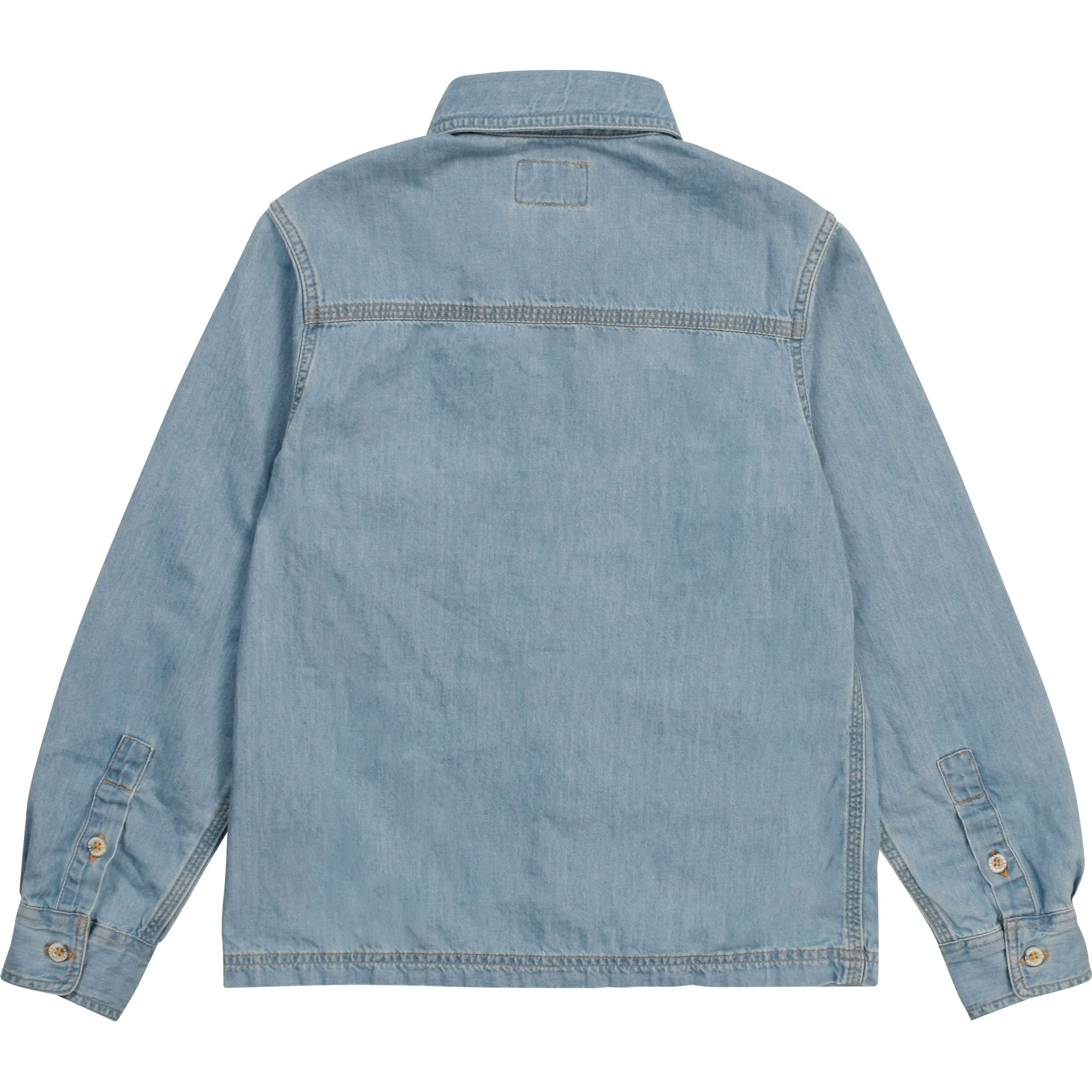 Chemise jean manches longues TIMBERLAND pour GARCON