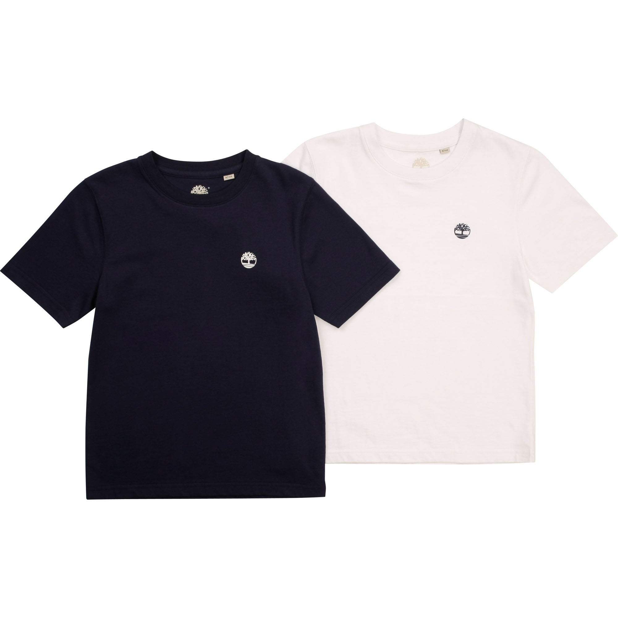 Lot de 2 T-shirts en coton bio TIMBERLAND pour GARCON