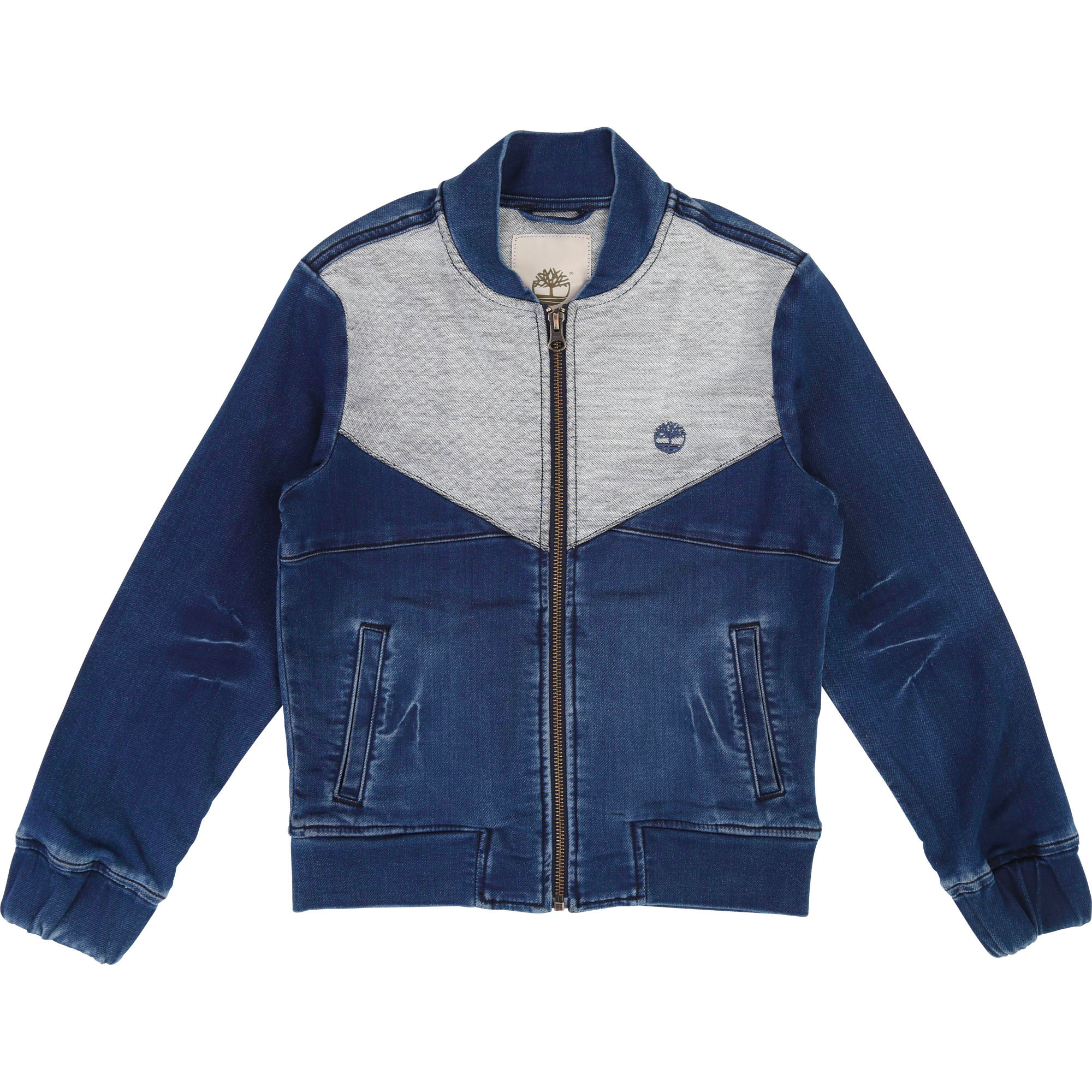 Denim and jersey jacket TIMBERLAND for BOY