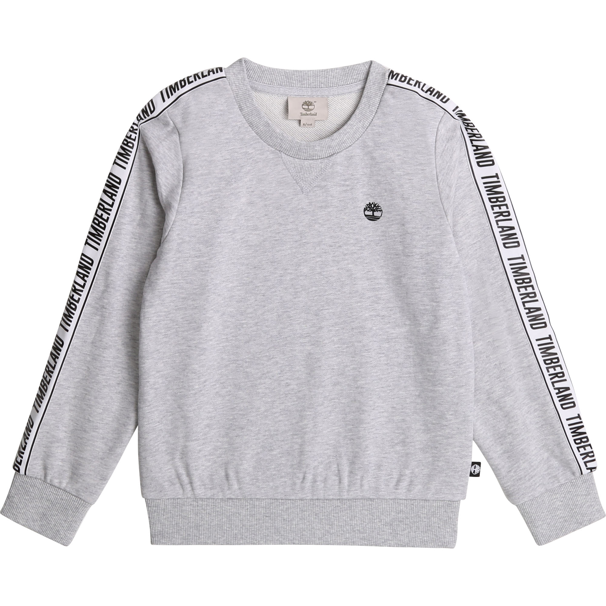 Sweat col rond tresses logo TIMBERLAND pour GARCON