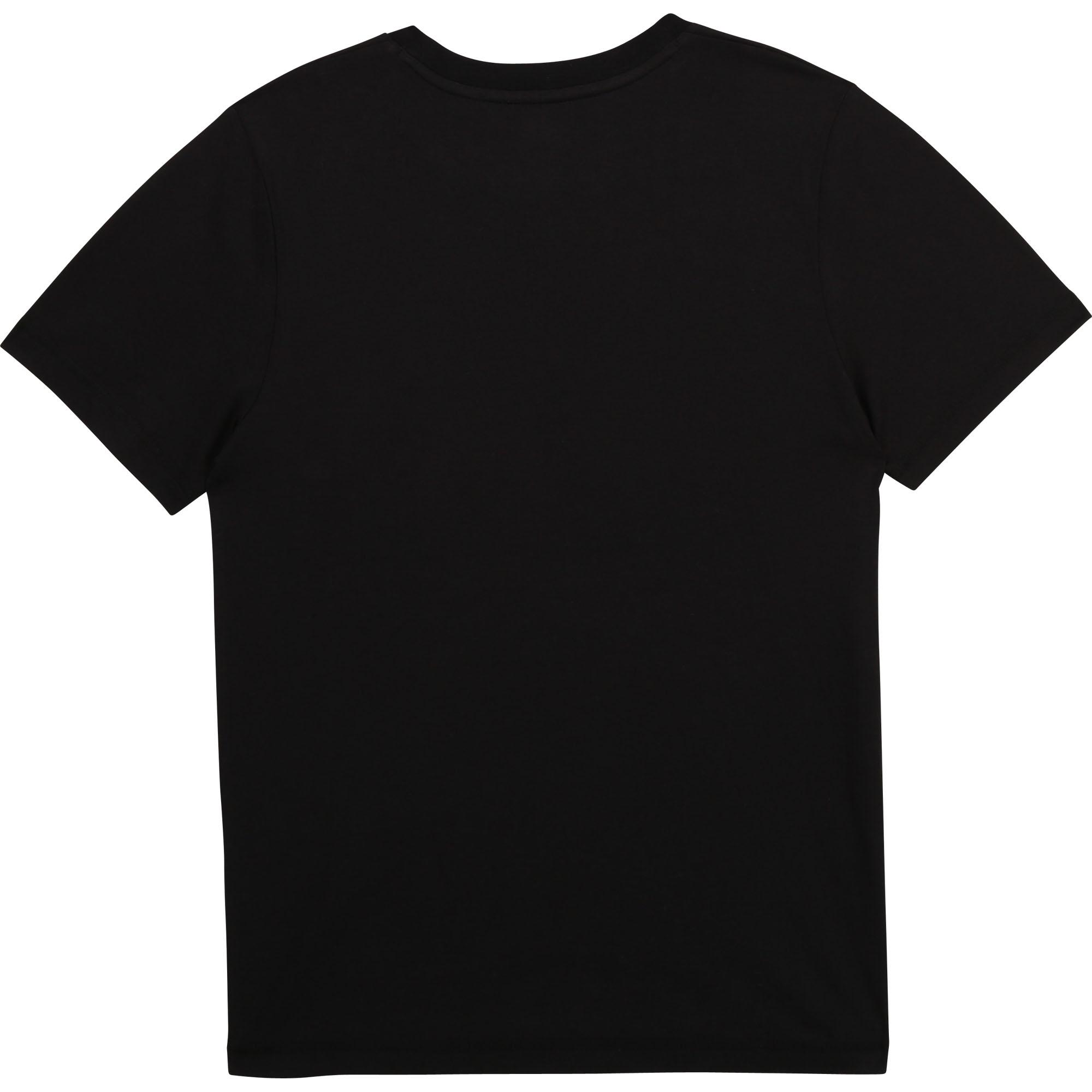 T-shirt col rond coton bio TIMBERLAND pour GARCON