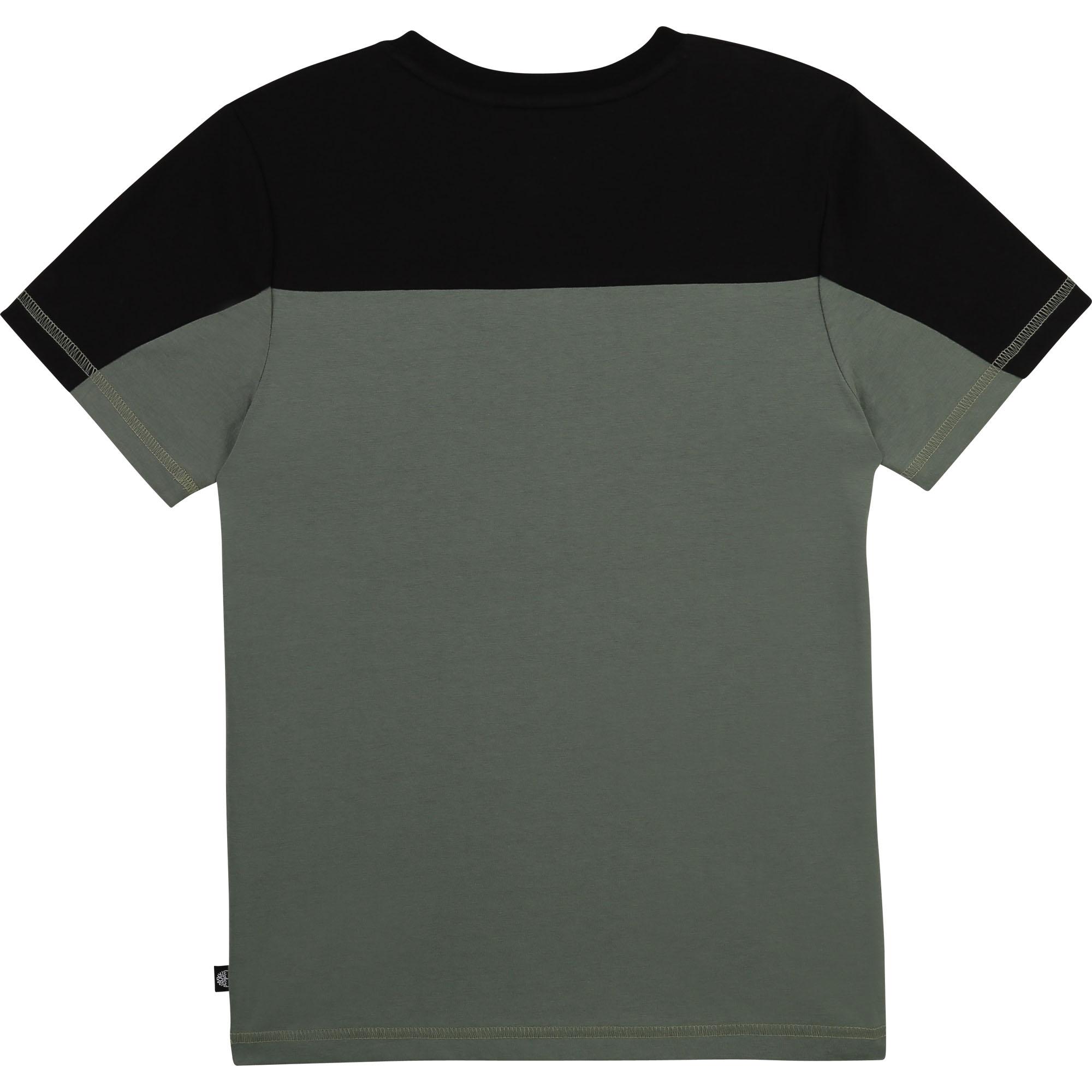 T-shirt jersey 100 % coton bio TIMBERLAND pour GARCON