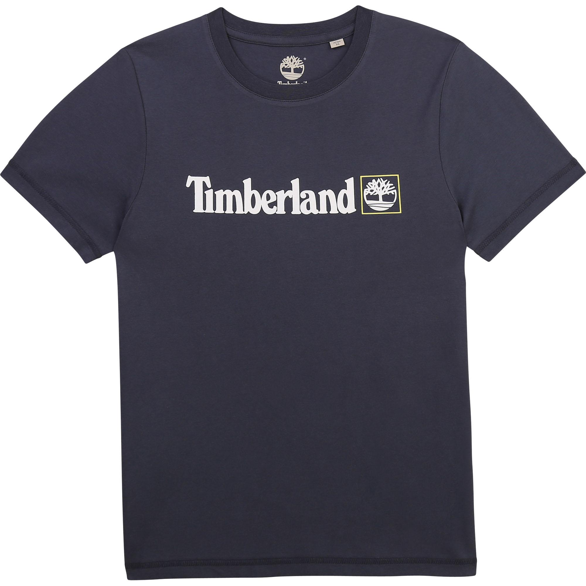 T-shirt manches courtes en coton biologique TIMBERLAND pour GARCON
