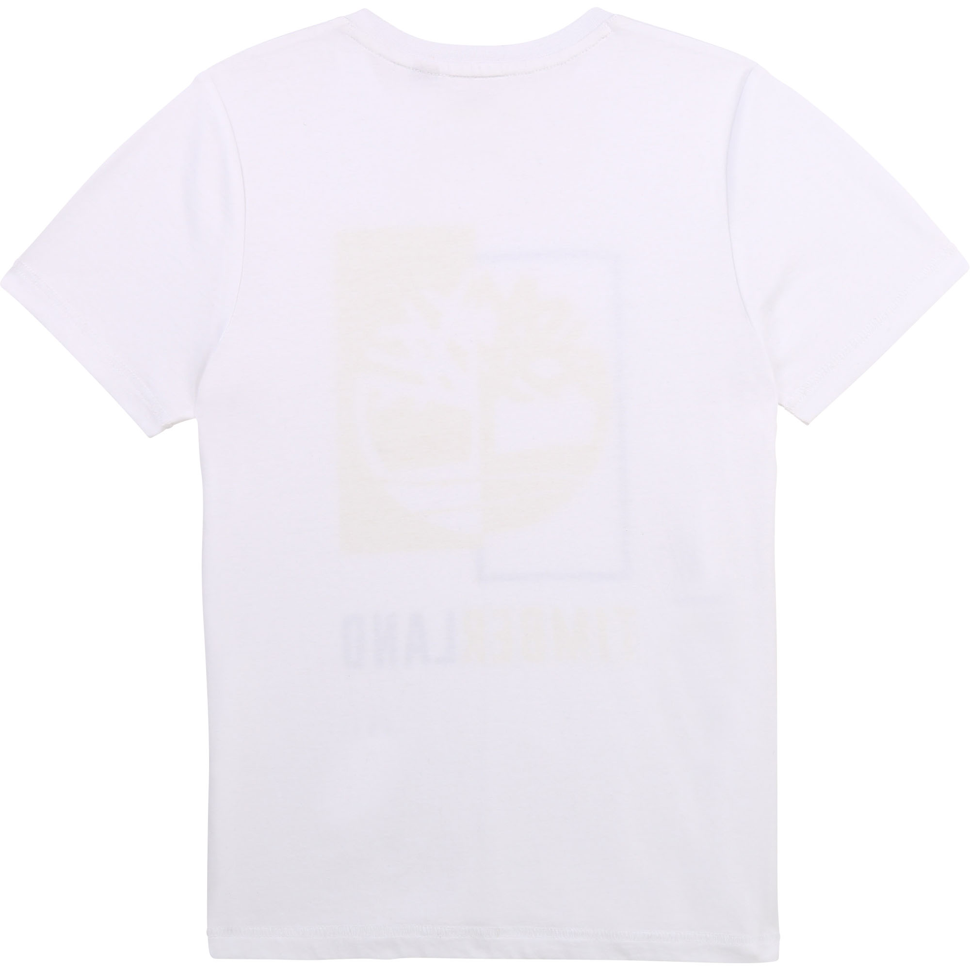 T-shirt col rond en coton bio TIMBERLAND pour GARCON