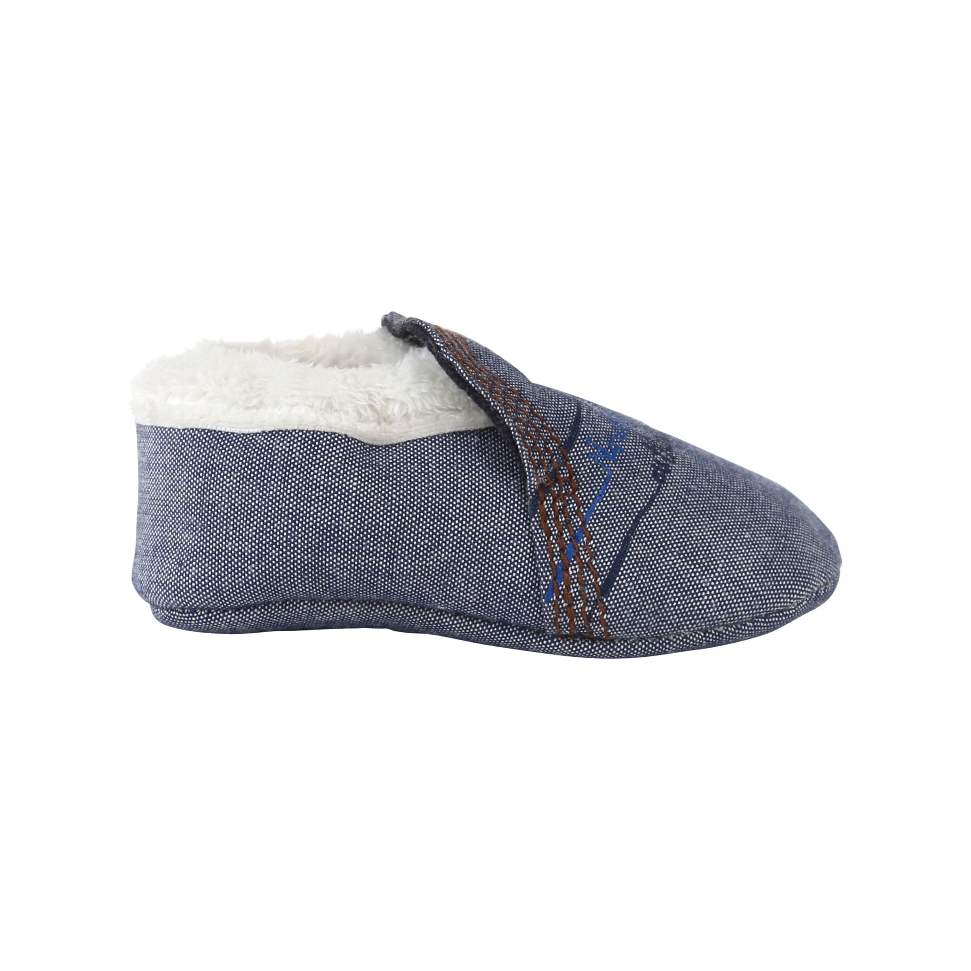 Chaussons chambray / fourrure TIMBERLAND pour GARCON