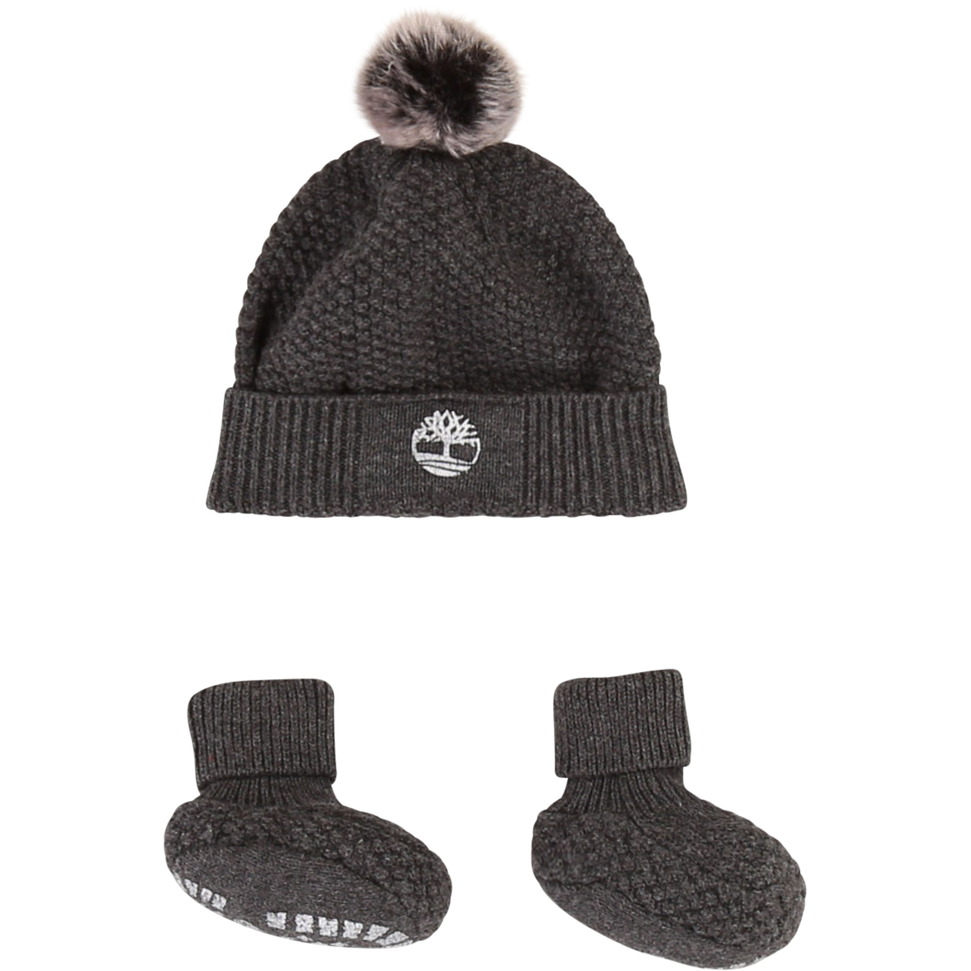 Cap and booties set TIMBERLAND for BOY