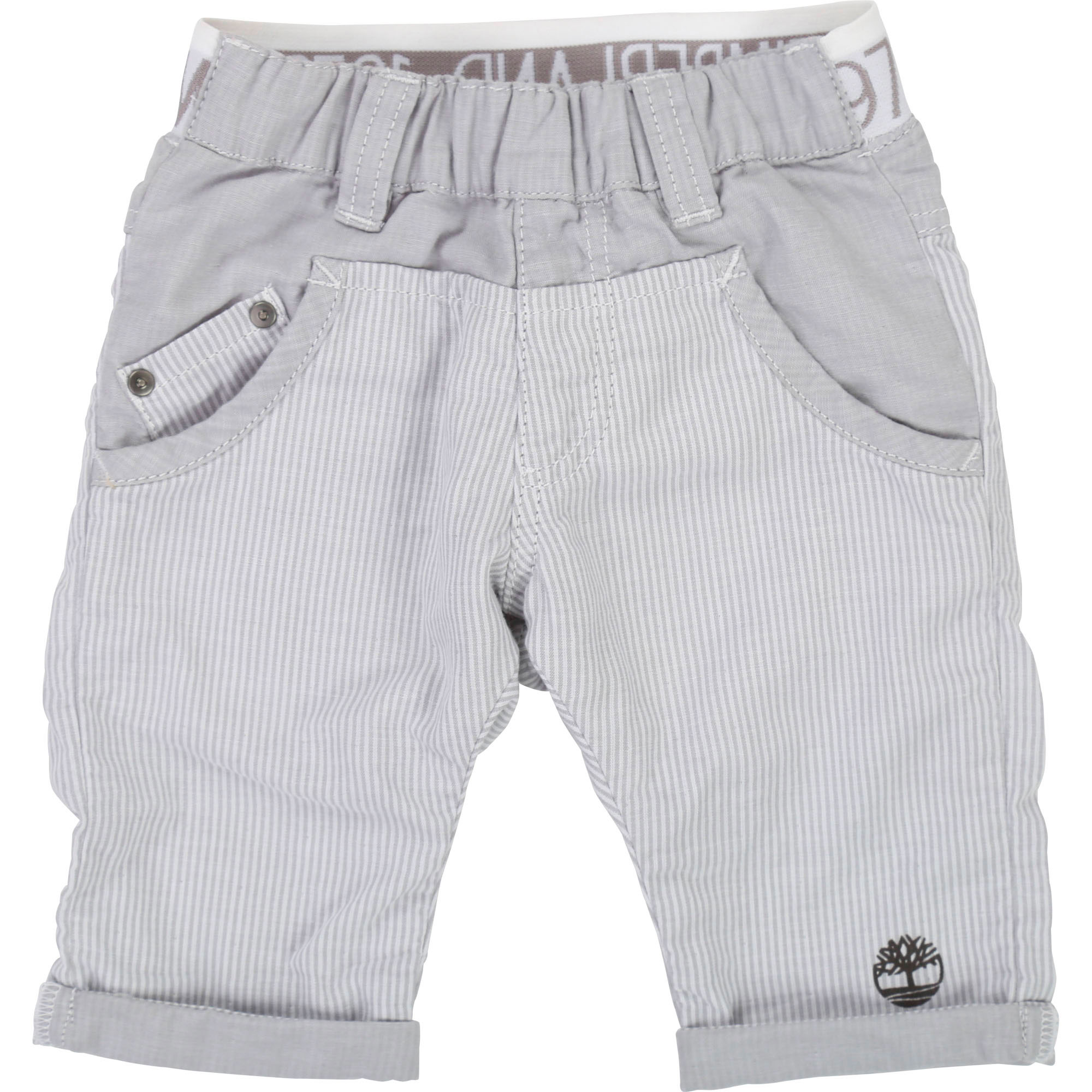 Plain/striped cotton trousers TIMBERLAND for BOY