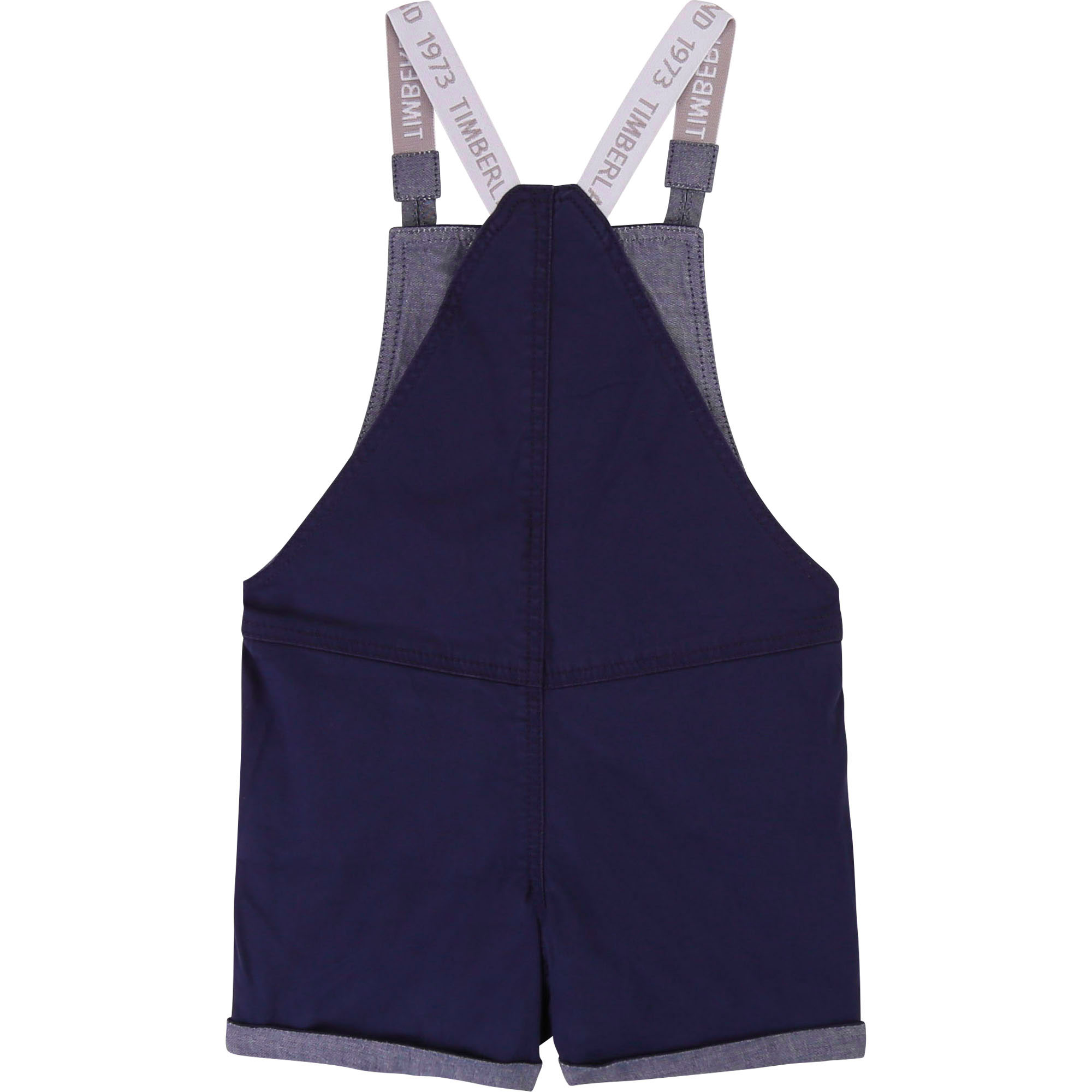 Bleached twill dungaree shorts TIMBERLAND for BOY