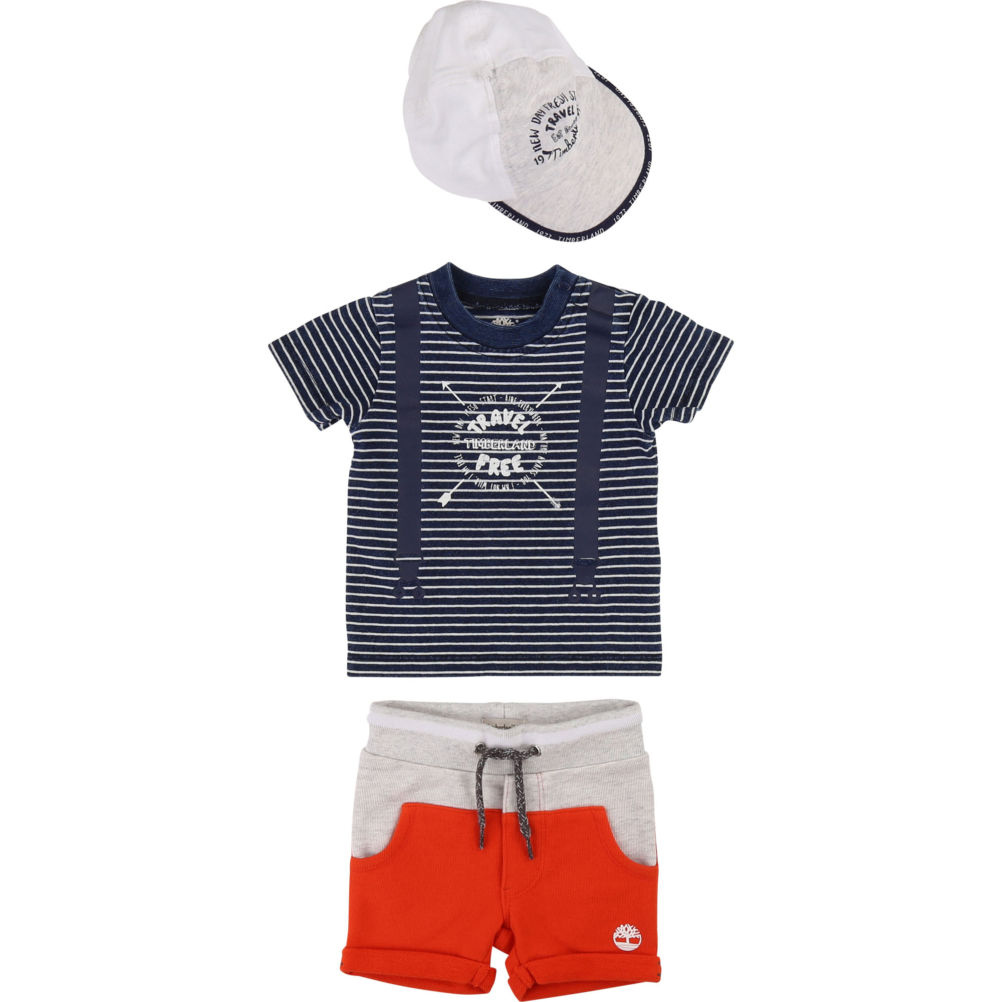 Cotton illusion T-shirt TIMBERLAND for BOY