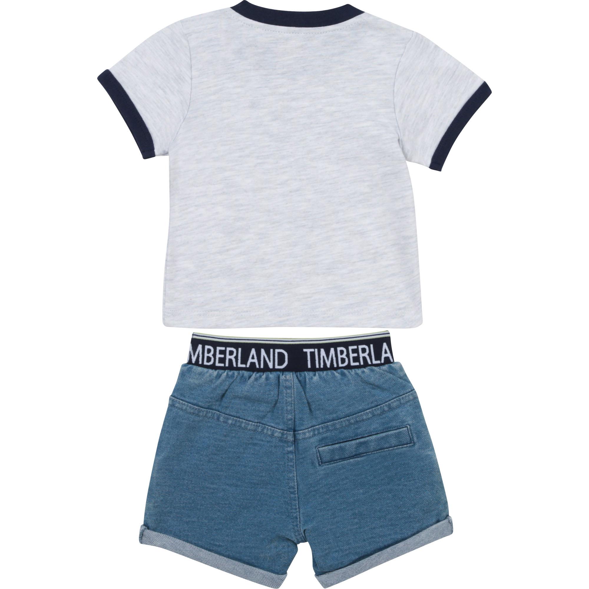 Ensemble T-shirt et short TIMBERLAND pour GARCON