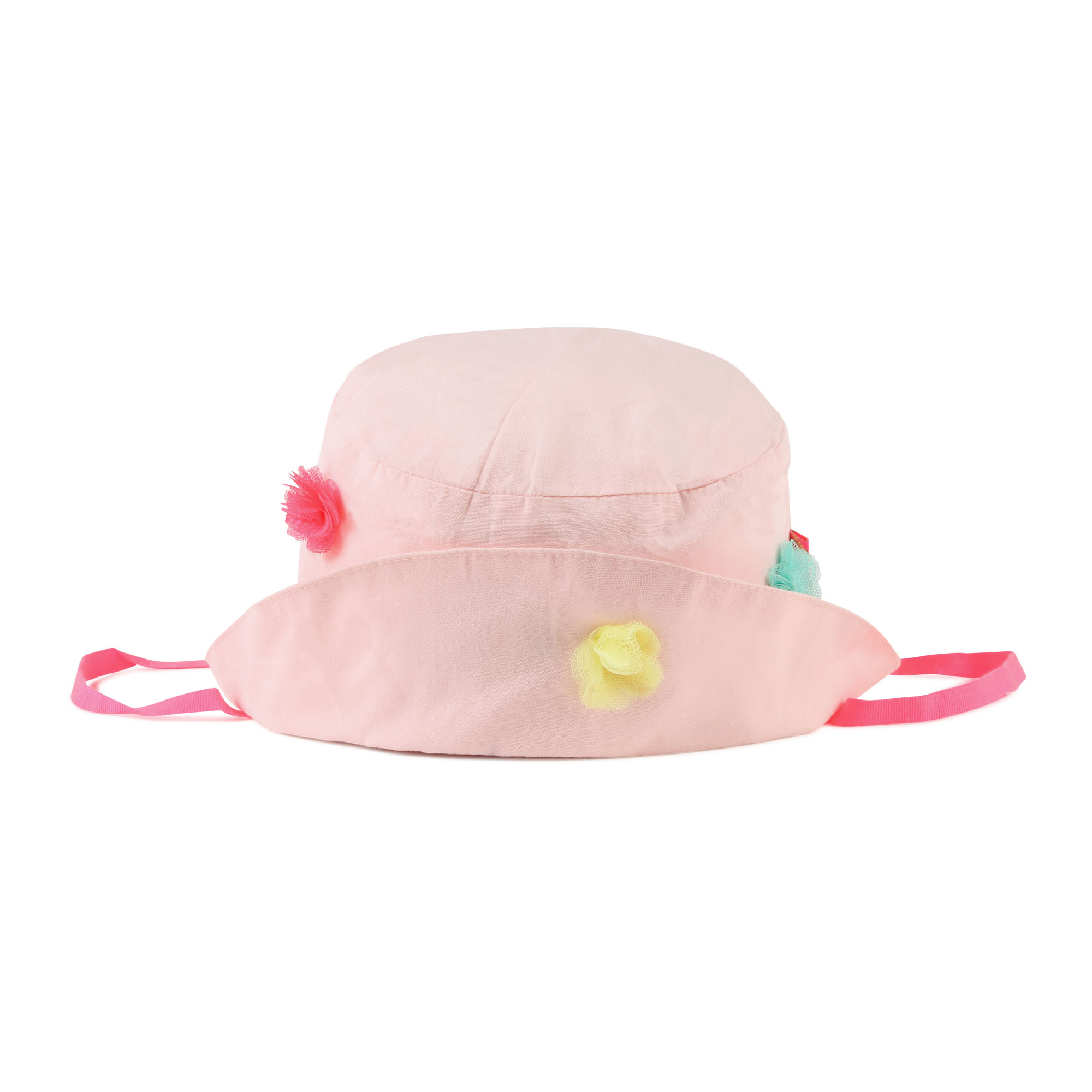 Cotton bucket hat with flowers BILLIEBLUSH for GIRL