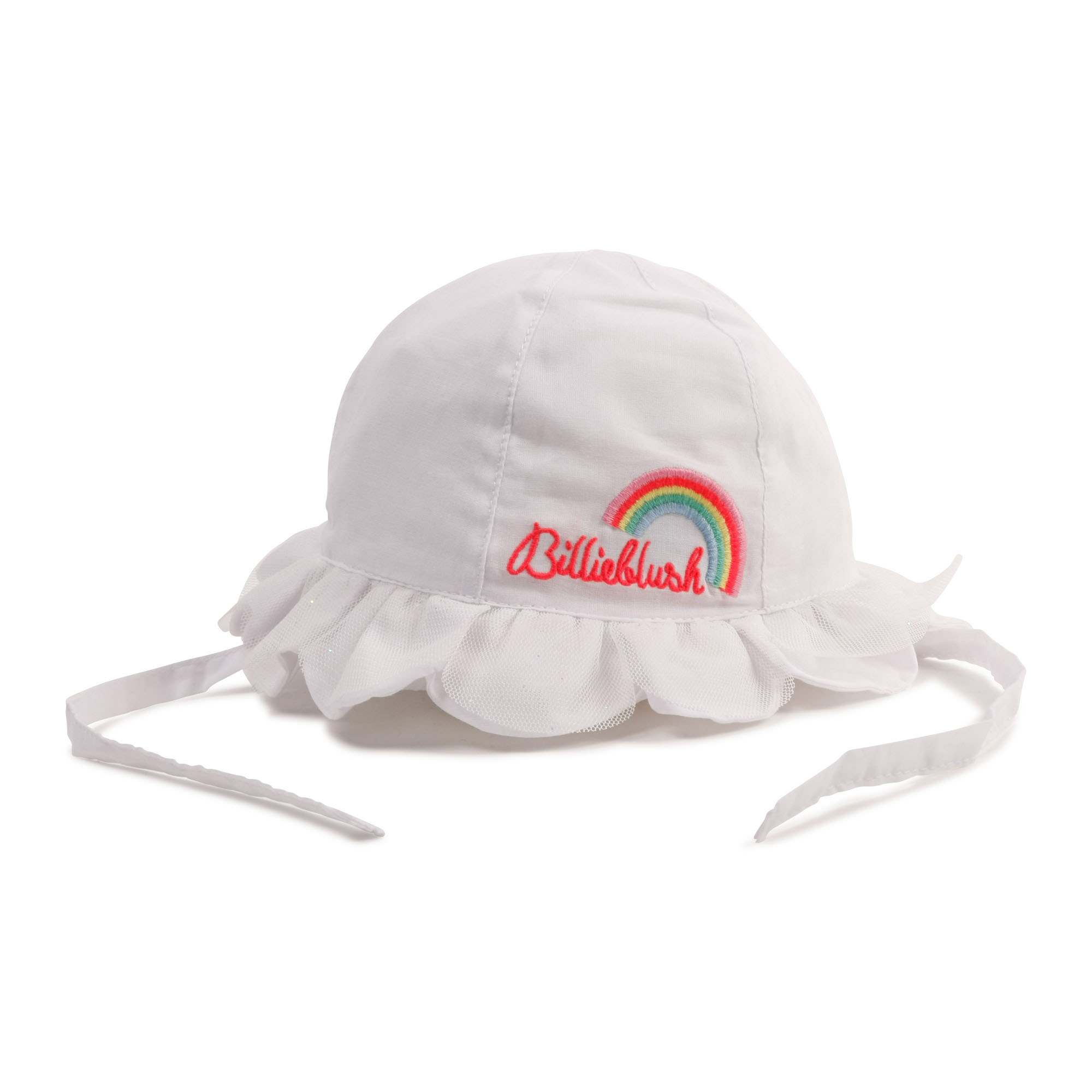 Chapeau en popeline brodé BILLIEBLUSH pour FILLE