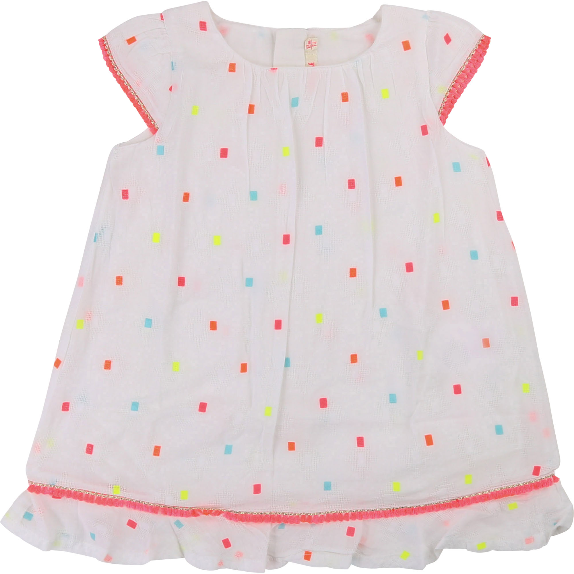 Multicolour patterned dress BILLIEBLUSH for GIRL
