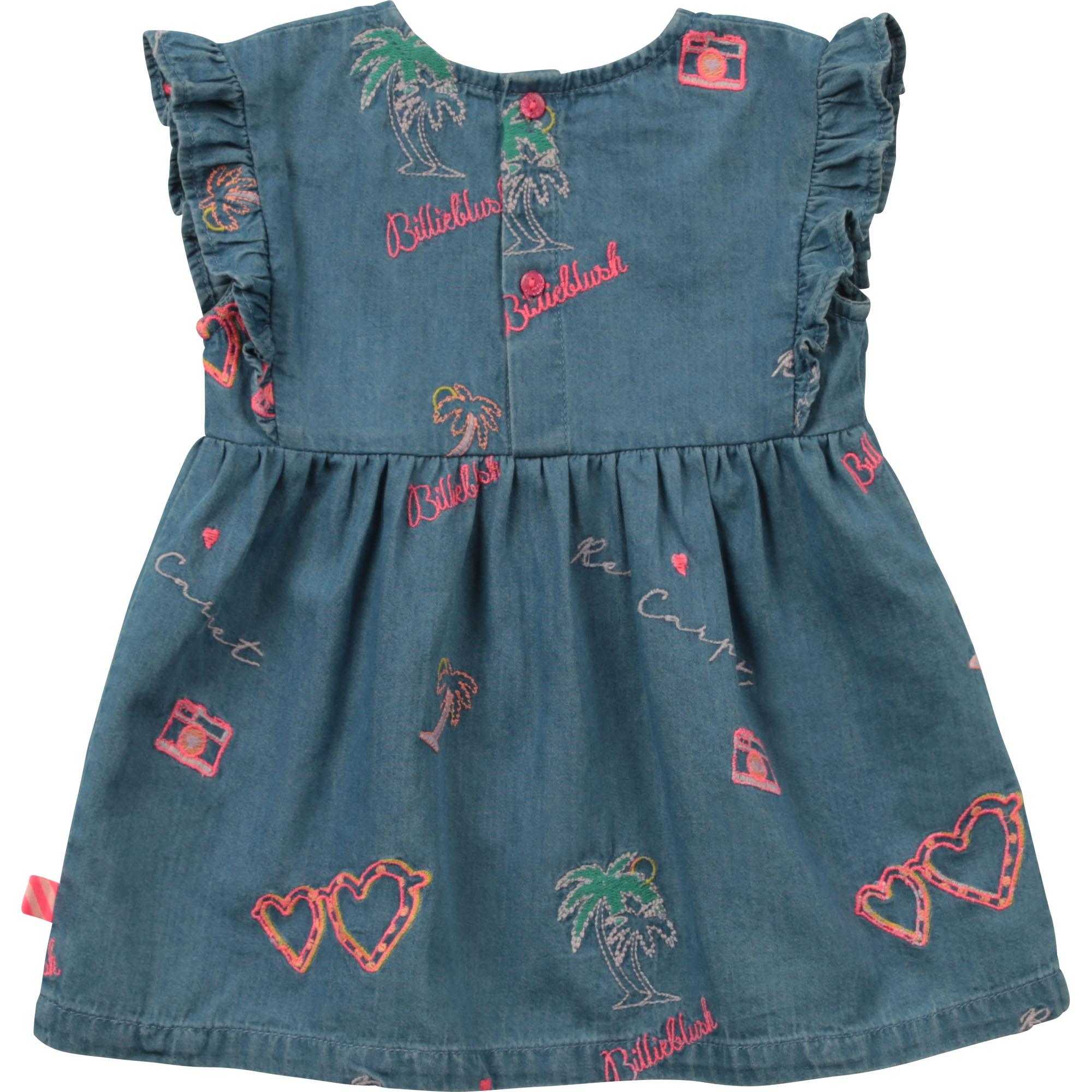 Sleeveless embroidered dress BILLIEBLUSH for GIRL