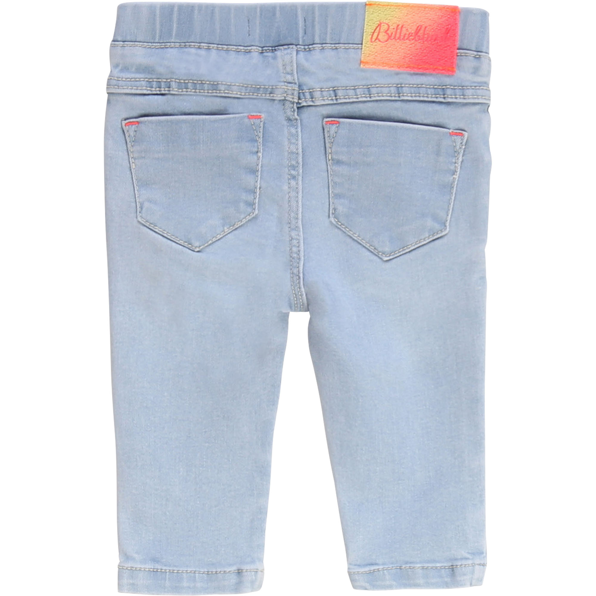 Denim trousers with beads BILLIEBLUSH for GIRL