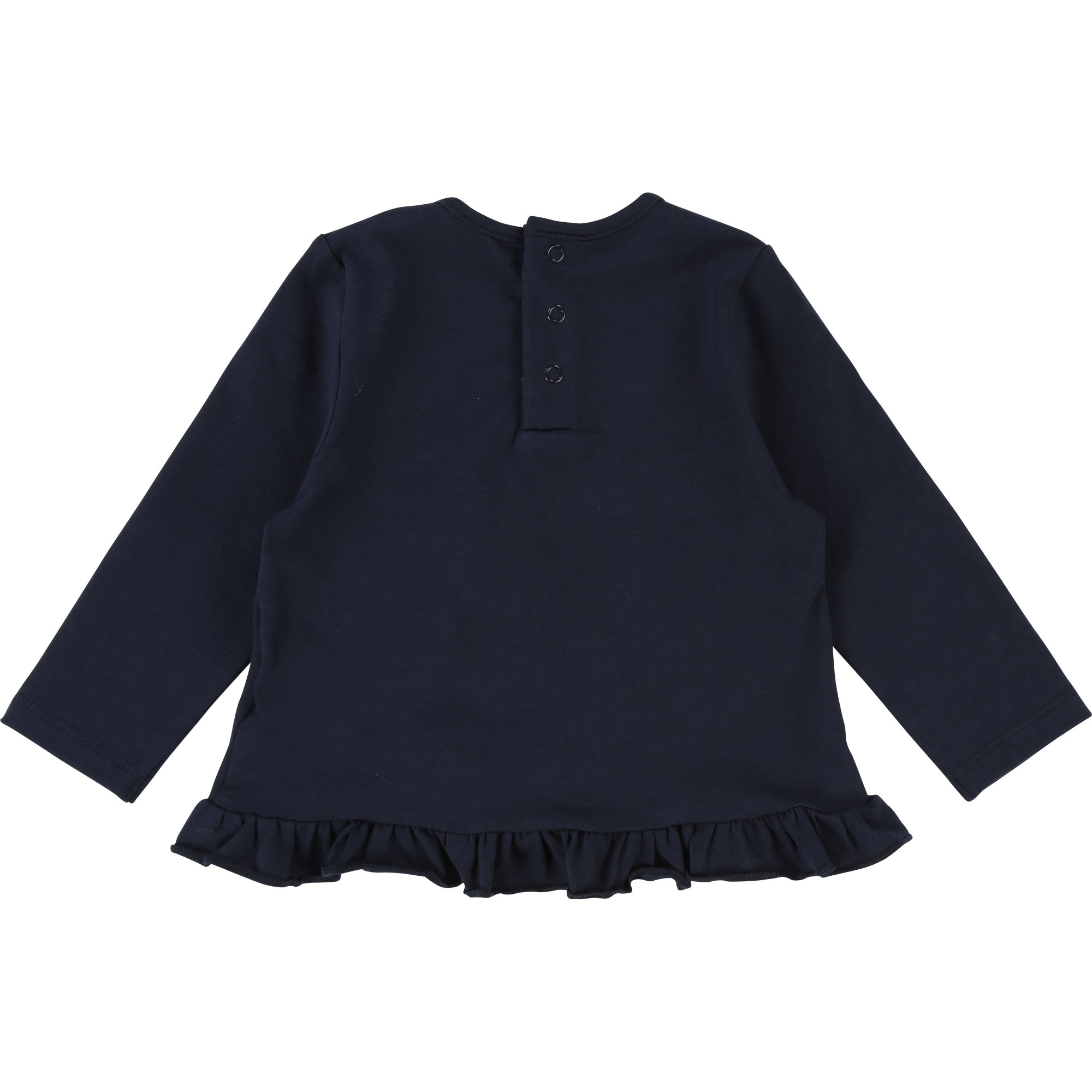 Ruffle coton elastane t-shirt BILLIEBLUSH for GIRL