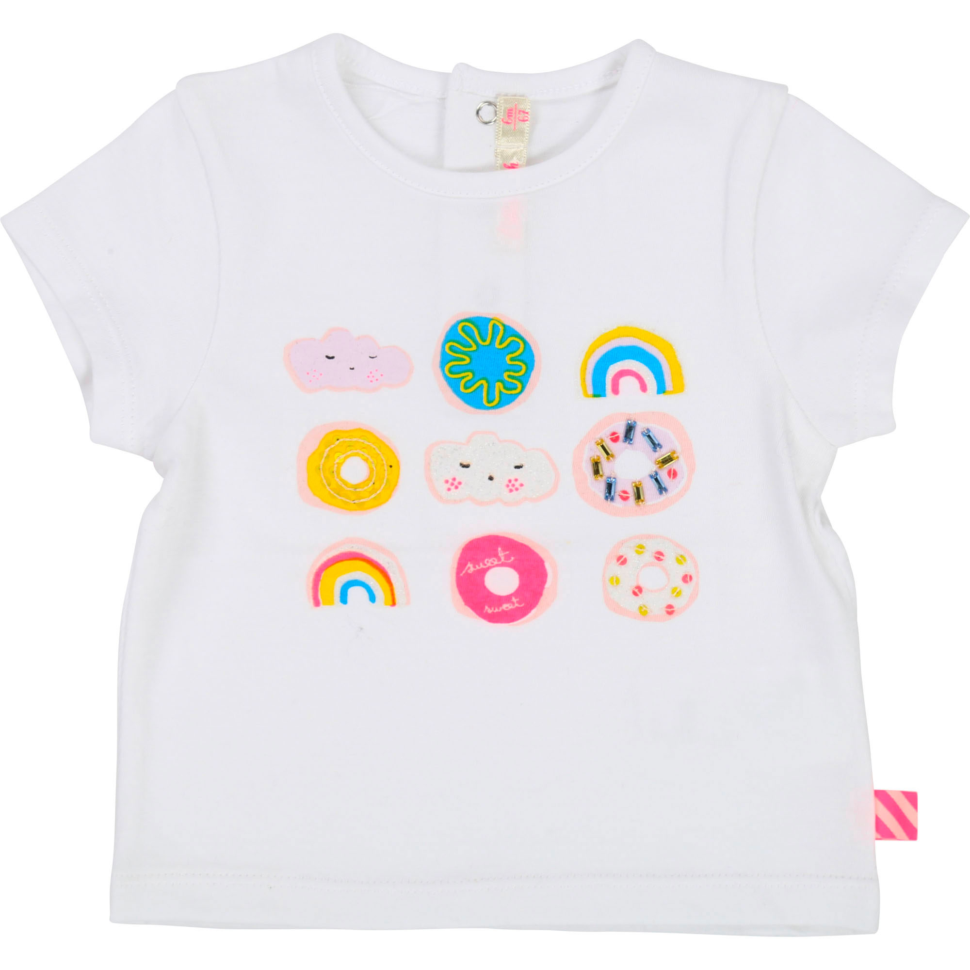 Fancy cotton T-shirt BILLIEBLUSH for GIRL