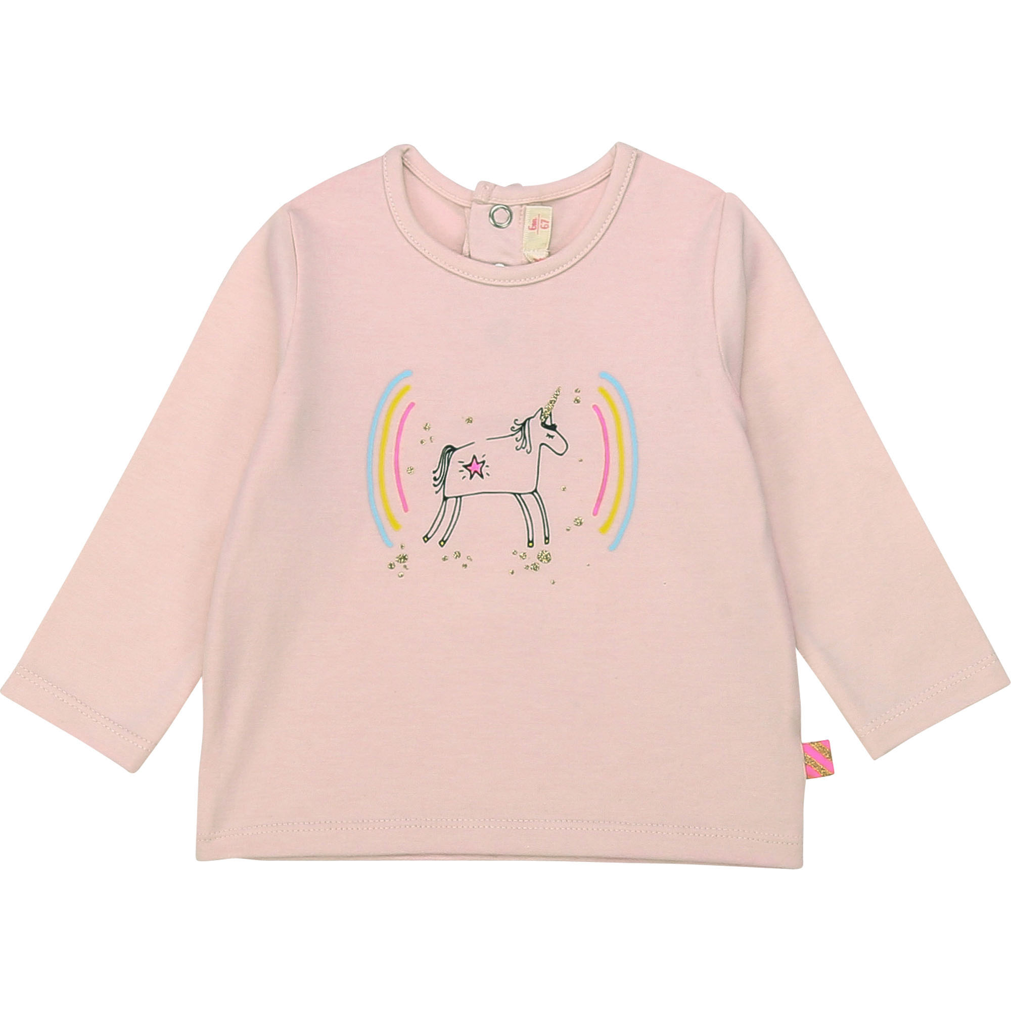 Illustrated cotton T-shirt BILLIEBLUSH for GIRL