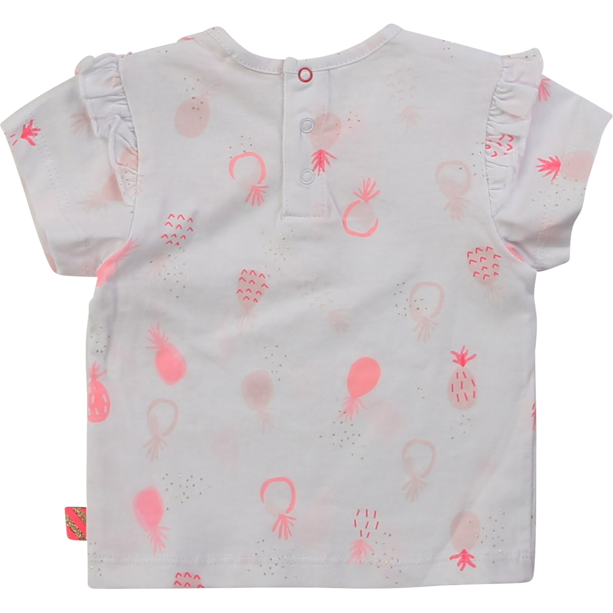 Printed T-shirt with frills BILLIEBLUSH for GIRL