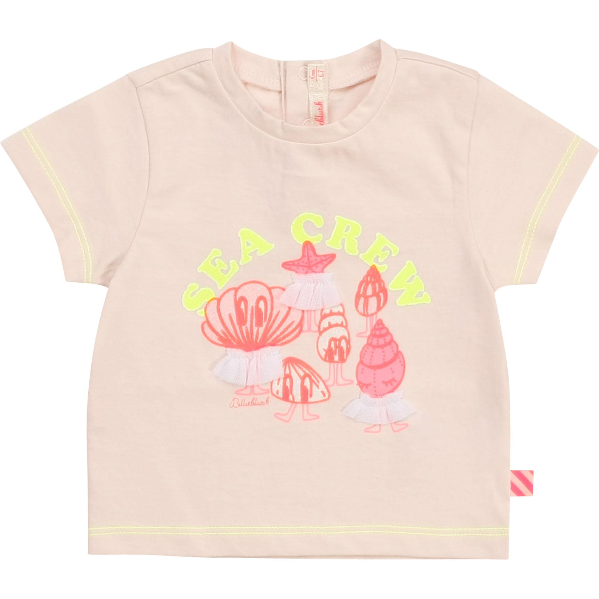Cotton jersey T-shirt BILLIEBLUSH for GIRL