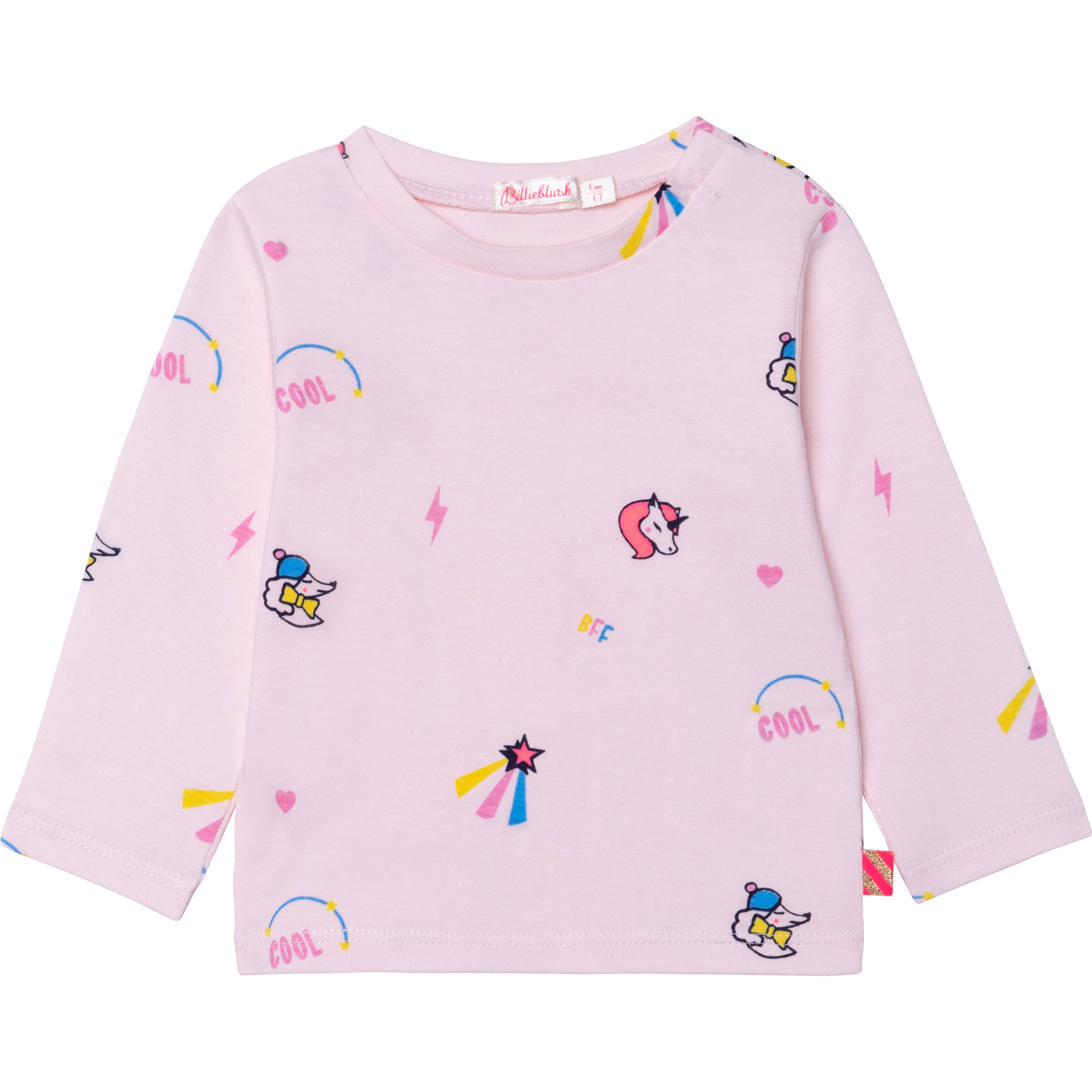 Printed cotton T-shirt BILLIEBLUSH for GIRL