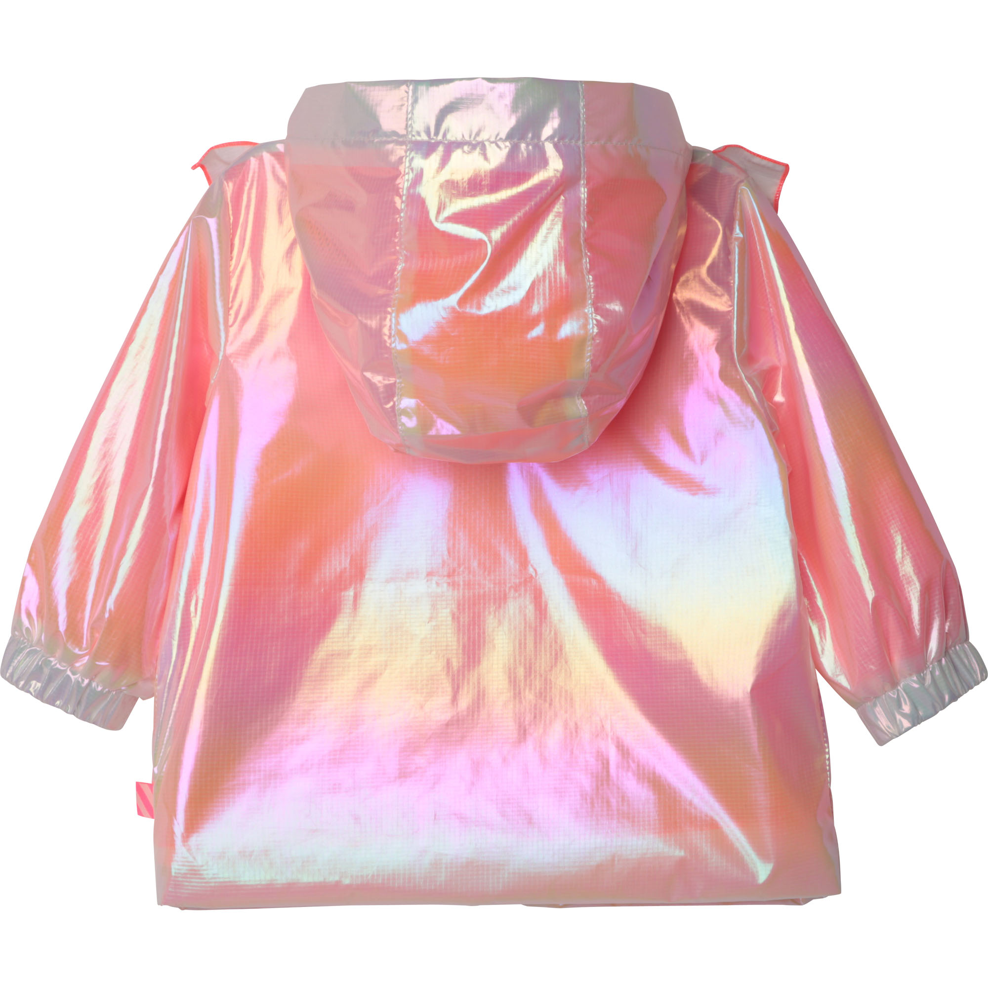 Hooded iridescent windbreaker BILLIEBLUSH for GIRL