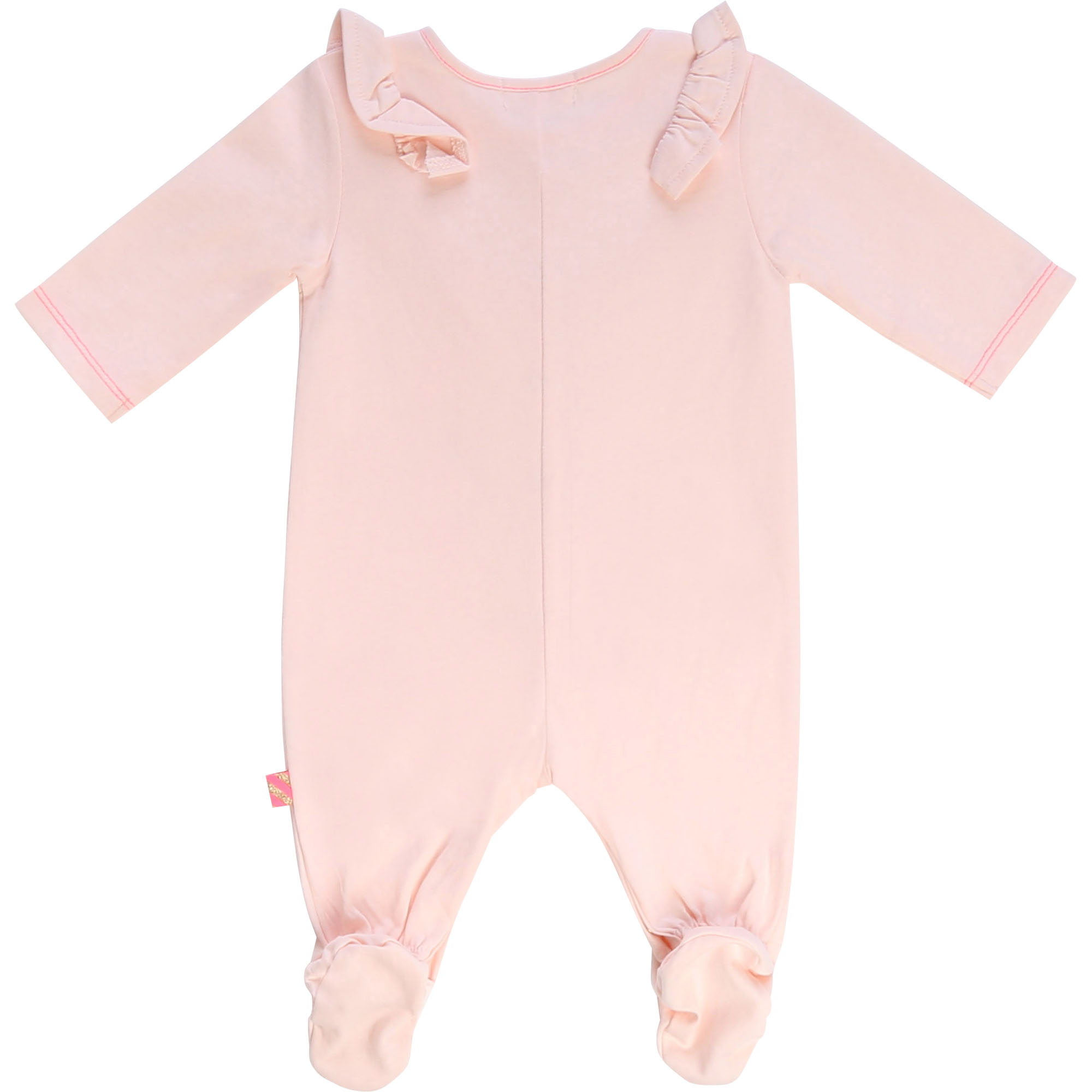 Cotton jersey footed pyjamas BILLIEBLUSH for GIRL