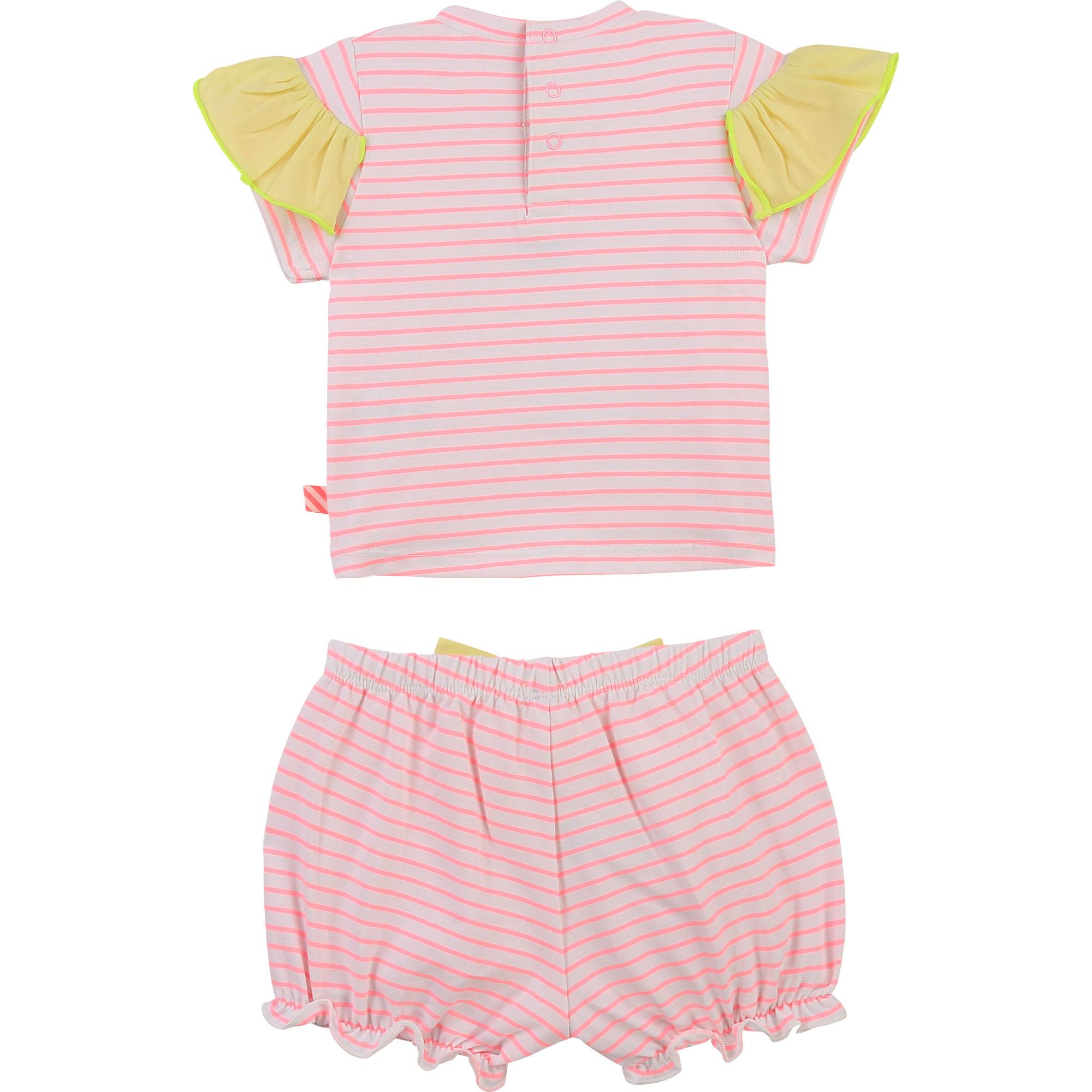 T-shirt and shorts set BILLIEBLUSH for GIRL