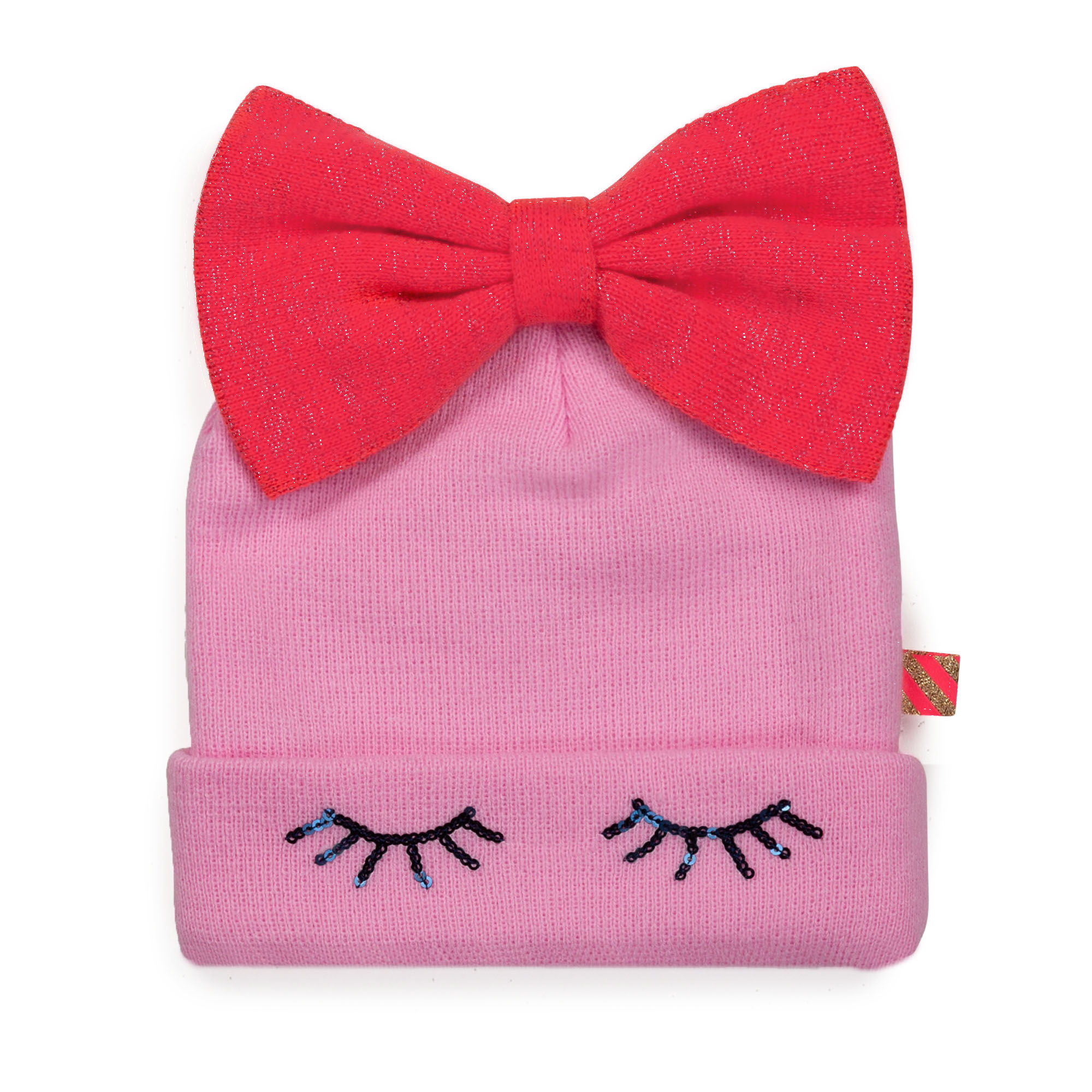 Hat and scarf set with bow BILLIEBLUSH for GIRL