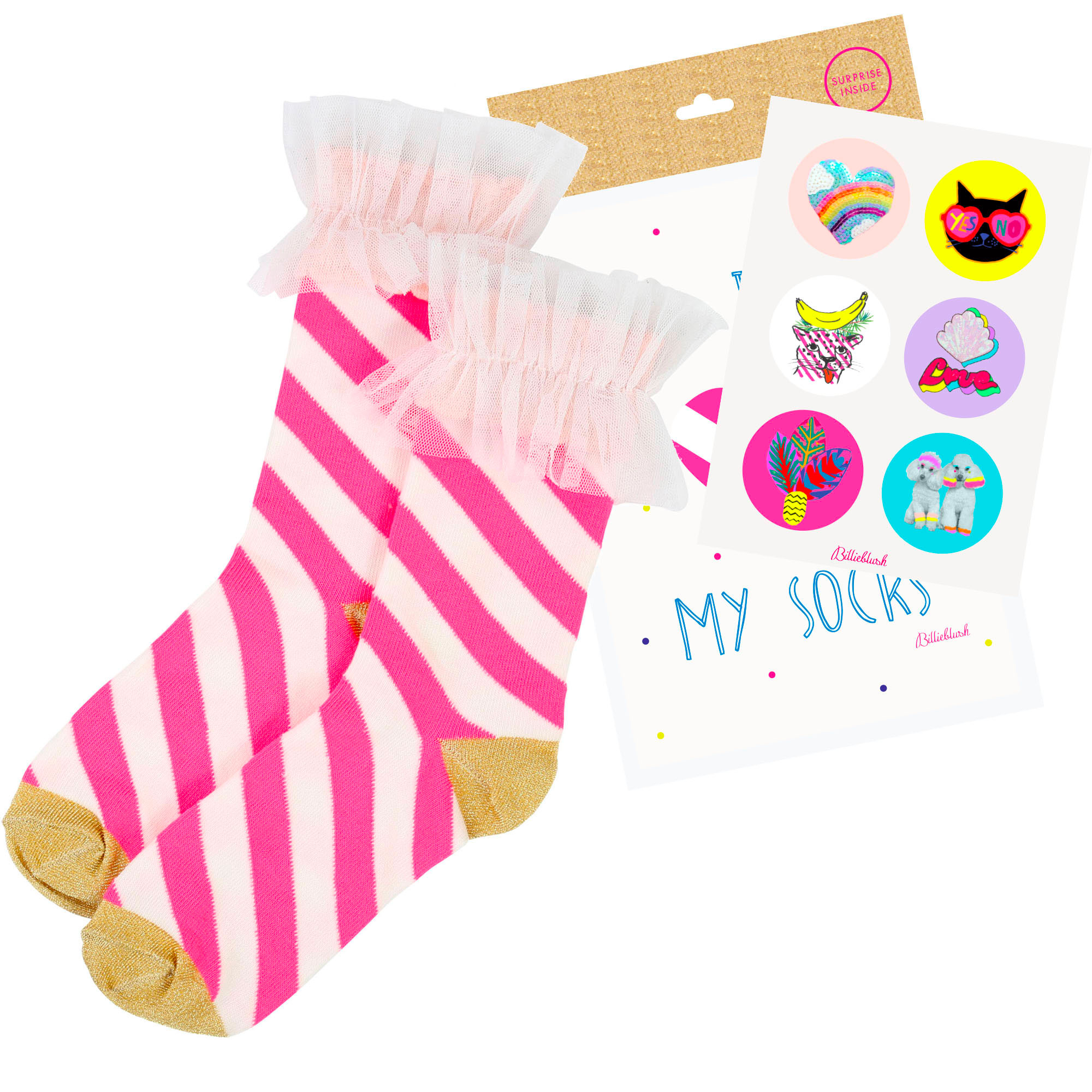 Striped socks BILLIEBLUSH for GIRL