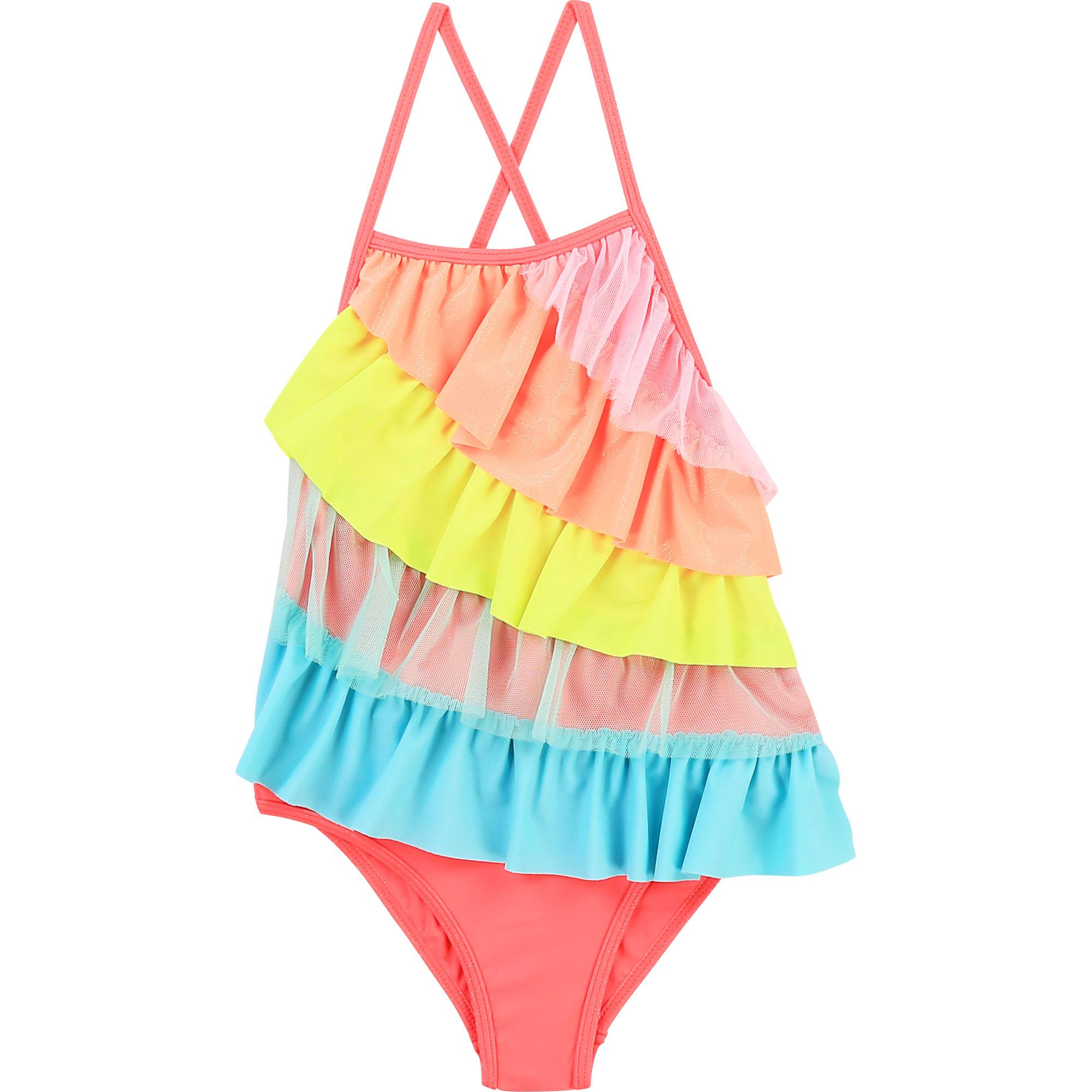 Frilled swimsuit BILLIEBLUSH for GIRL