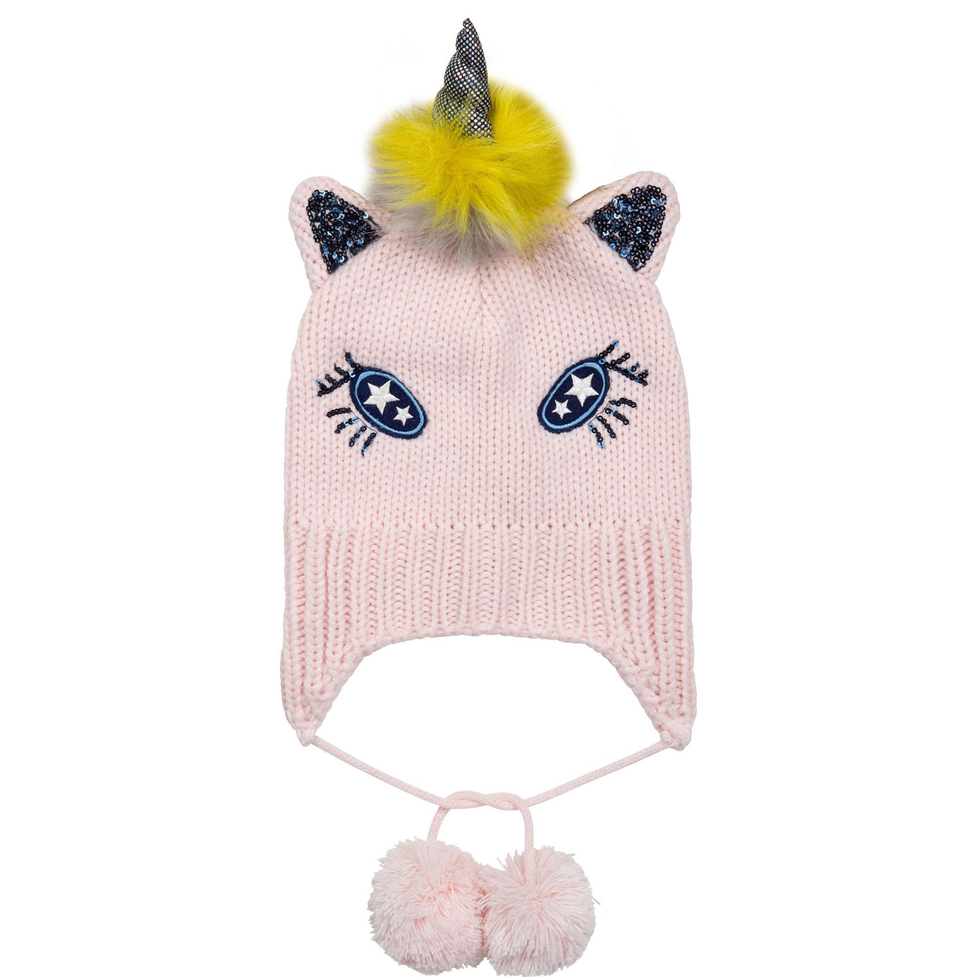 Tricot unicorn hat BILLIEBLUSH for GIRL