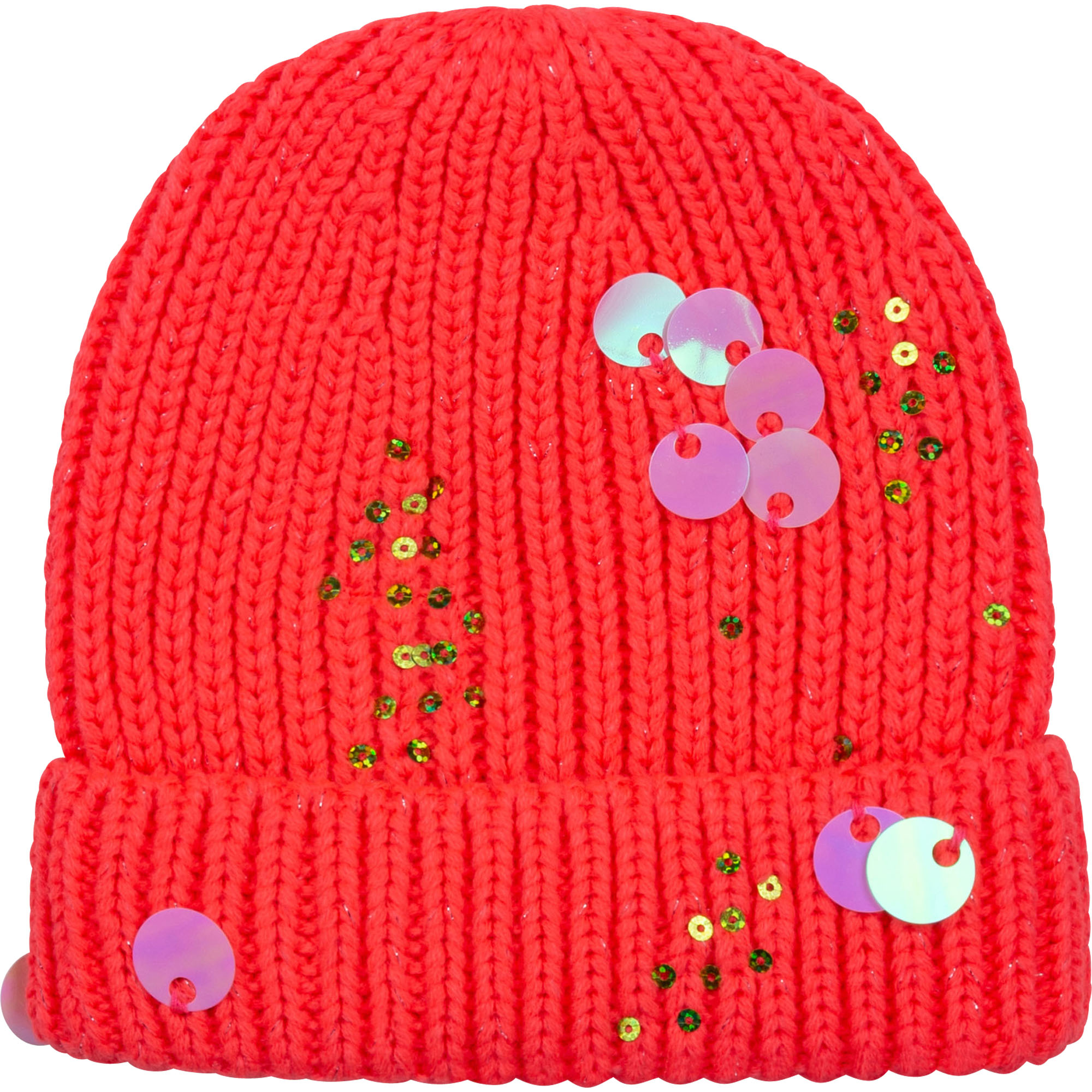 Iridescent knit hat BILLIEBLUSH for GIRL