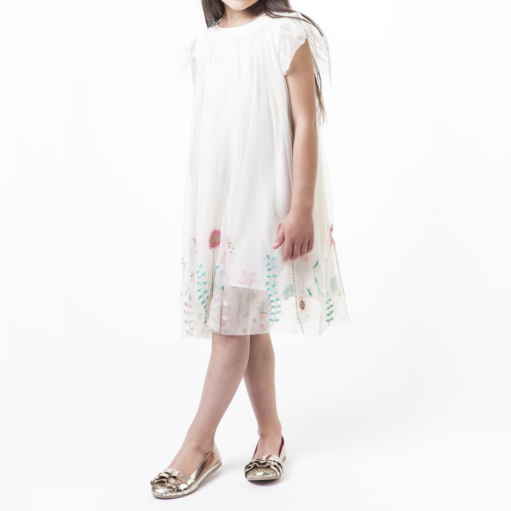 Tulle embroidery dress BILLIEBLUSH for GIRL