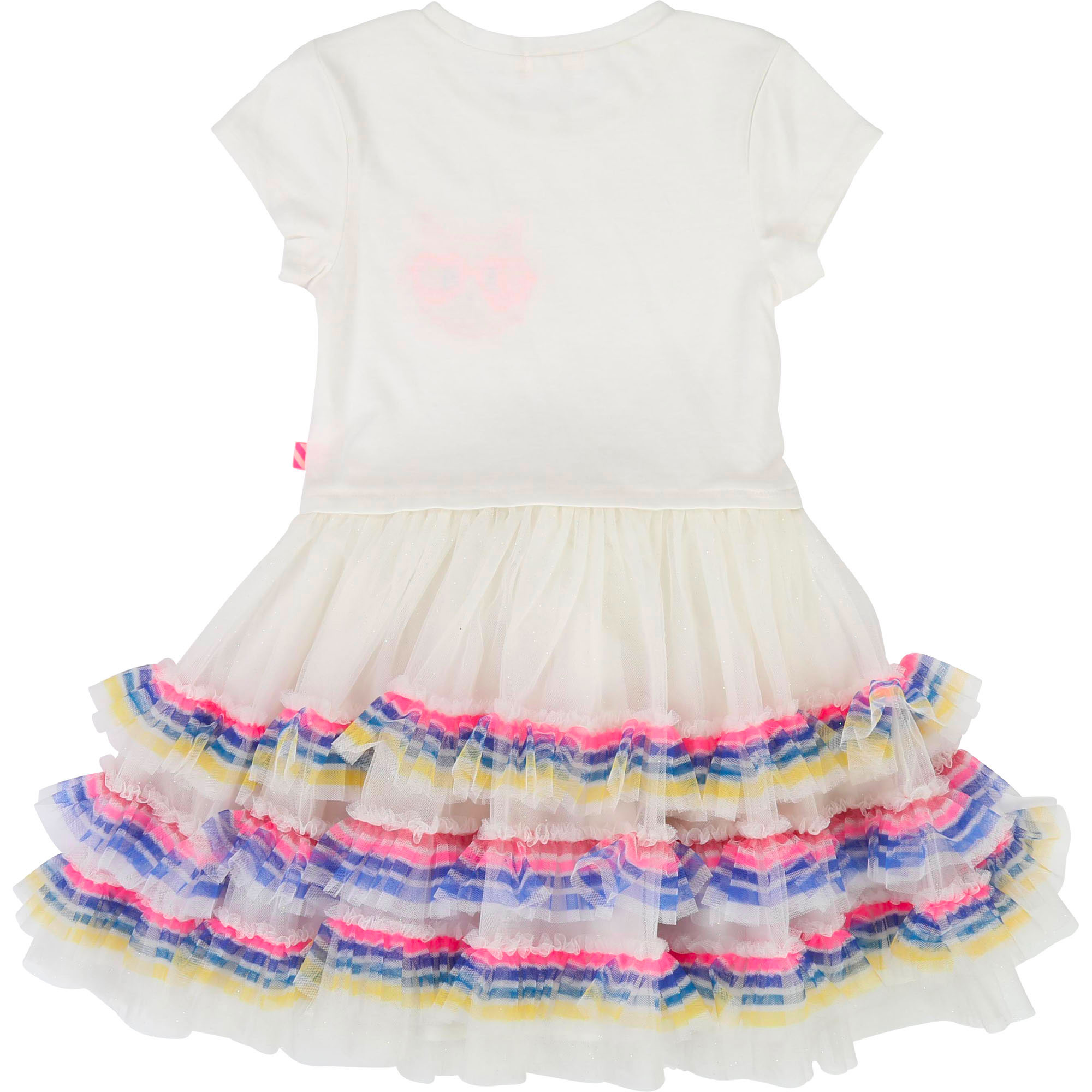 Jersey and tulle dress BILLIEBLUSH for GIRL