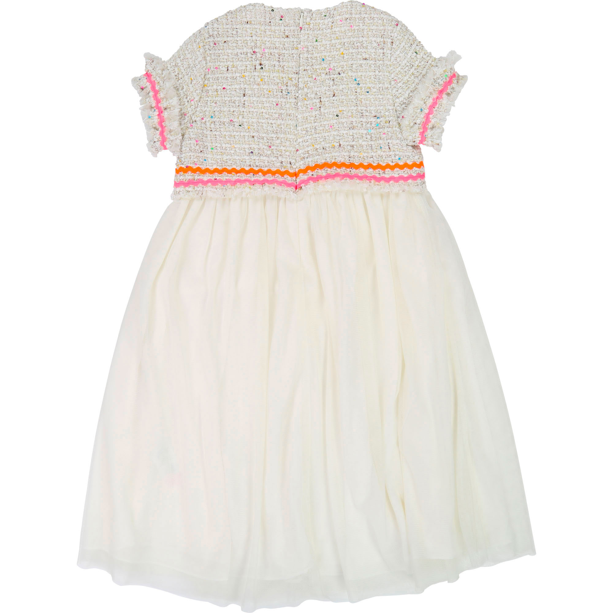 Tweed and tulle dress BILLIEBLUSH for GIRL