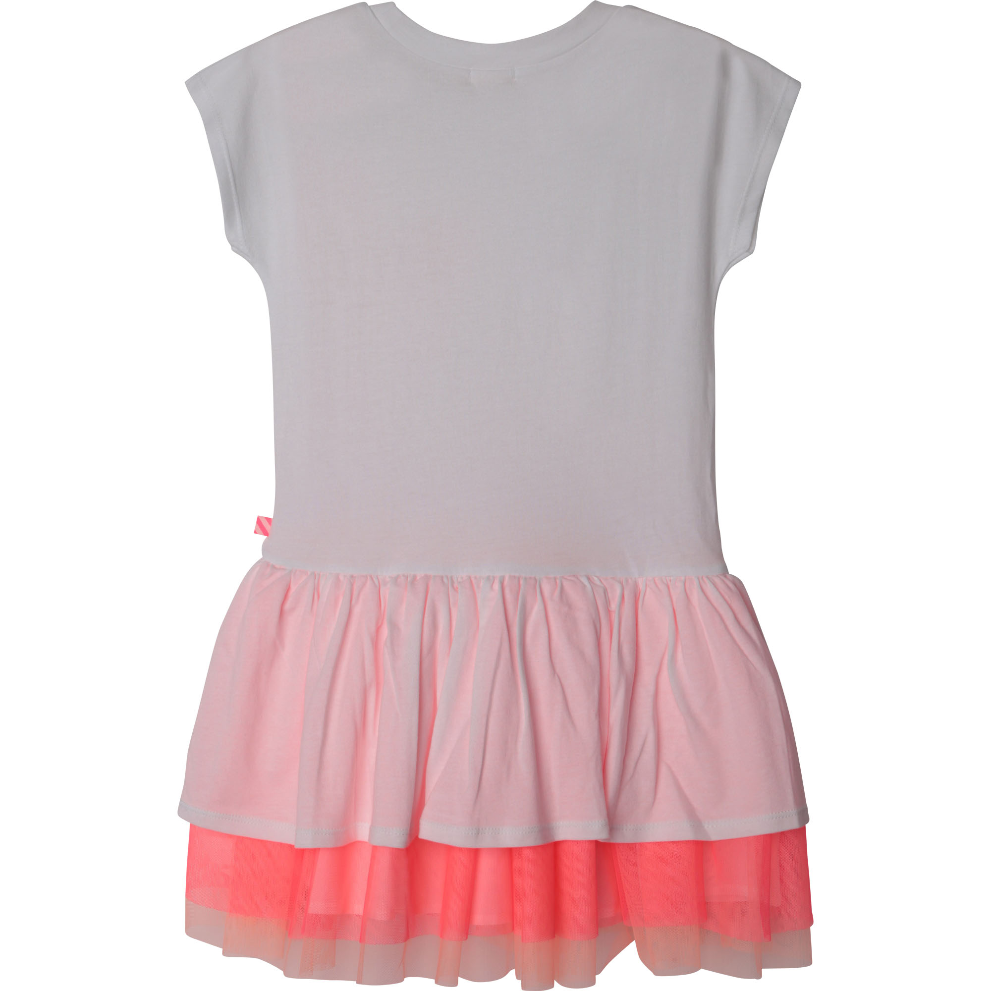 Frilled dual-material dress BILLIEBLUSH for GIRL