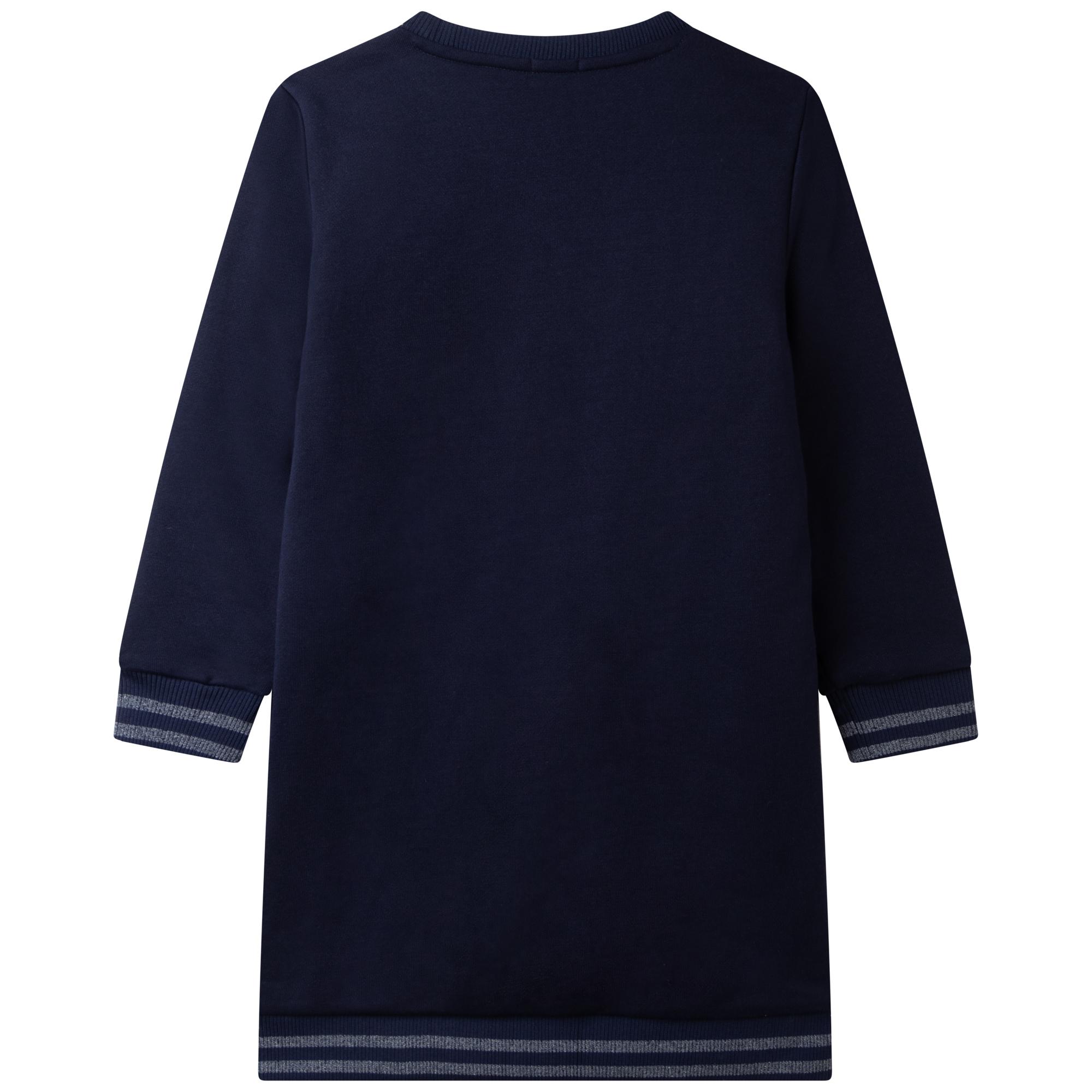 Fleece sweatshirt dress BILLIEBLUSH for GIRL