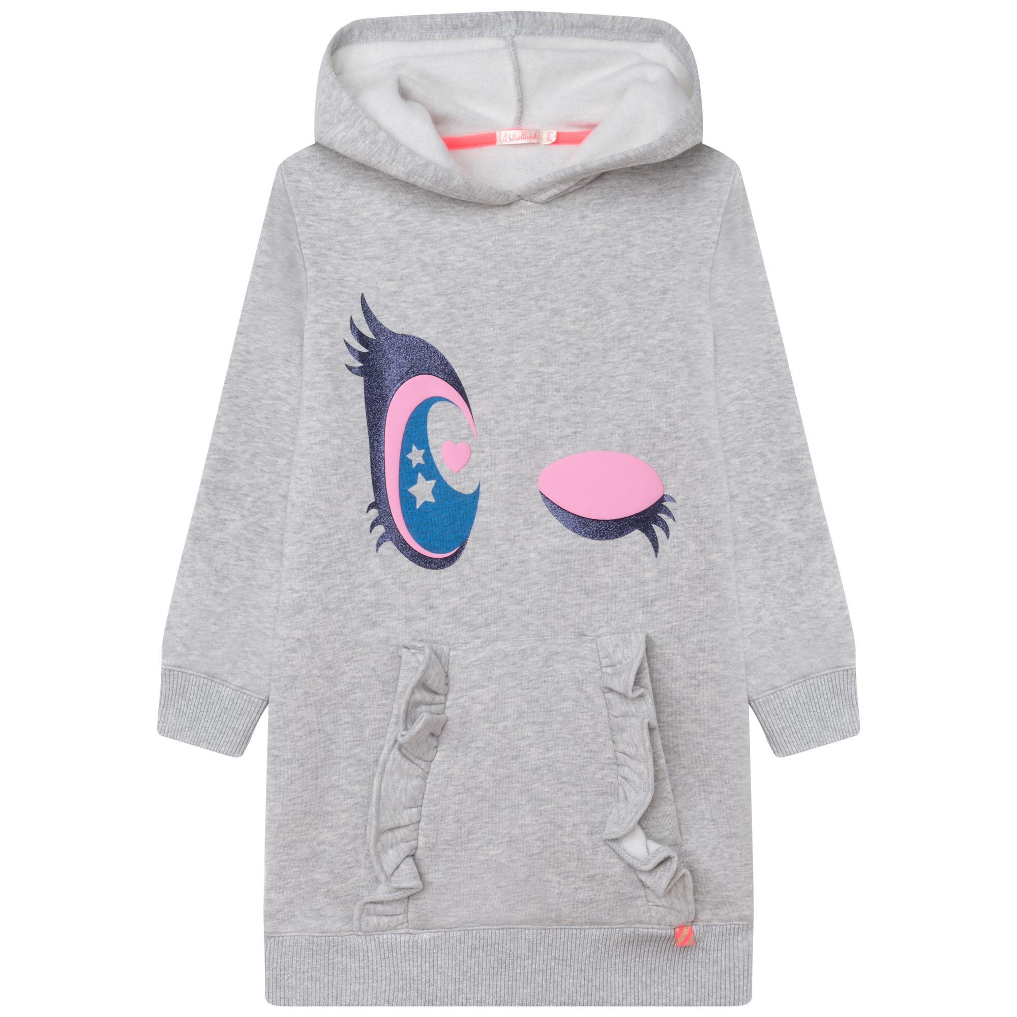 Hooded fleece dress BILLIEBLUSH for GIRL